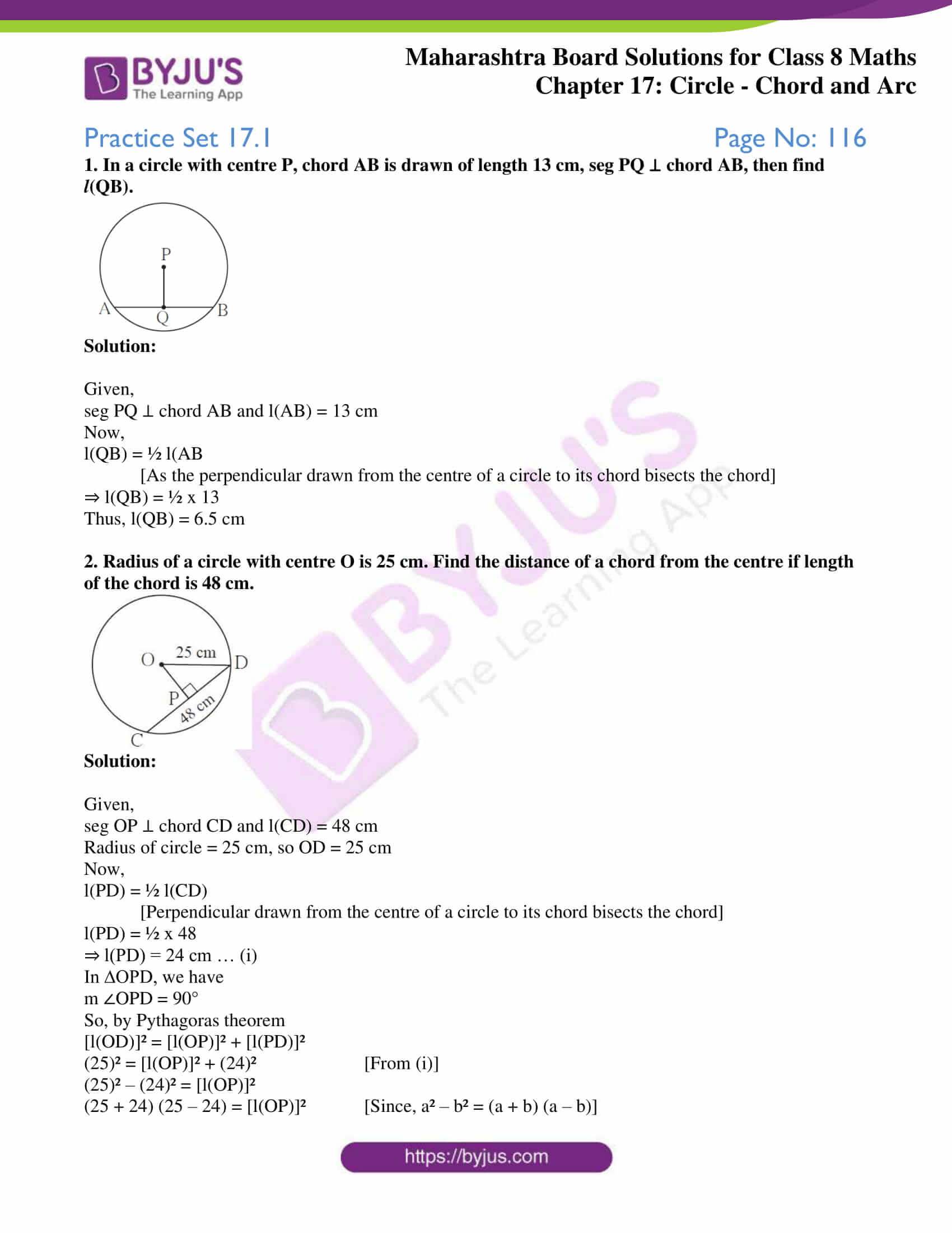 msbshse sol for class 8 maths chapter 17 1