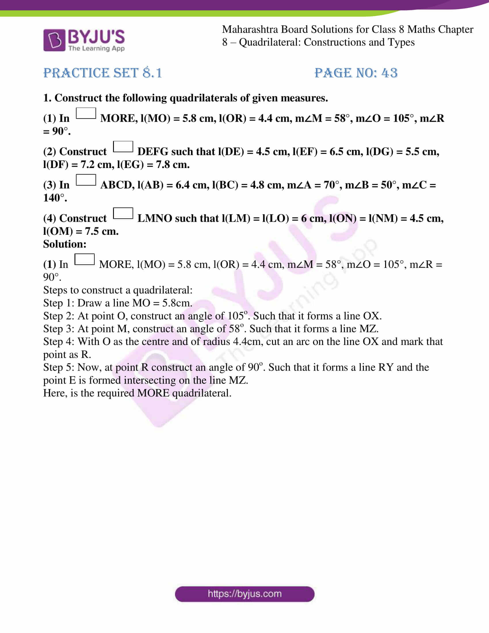 msbshse sol for class 8 maths chapter 8 01