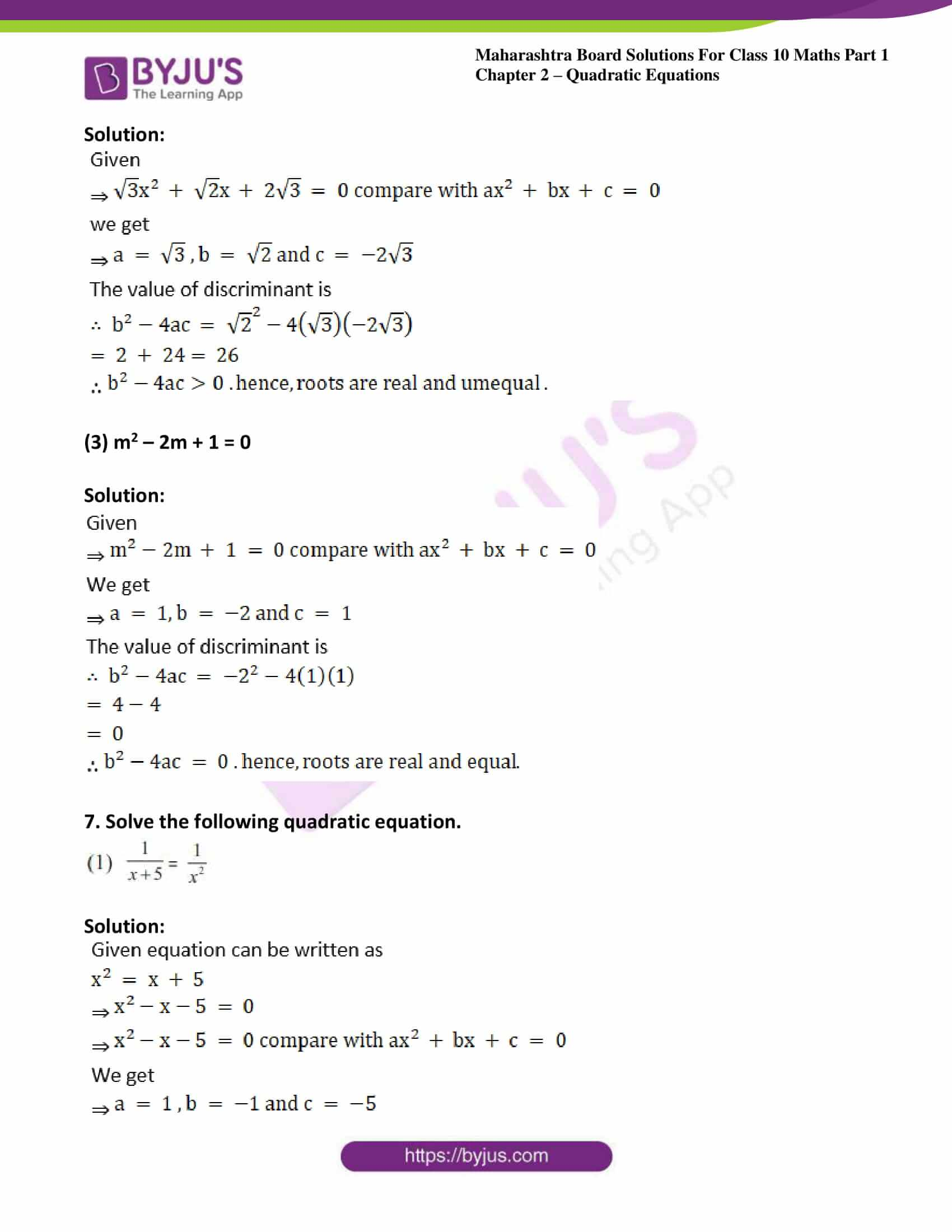 msbshse solutions class 10 maths part 1 chapter 2 43