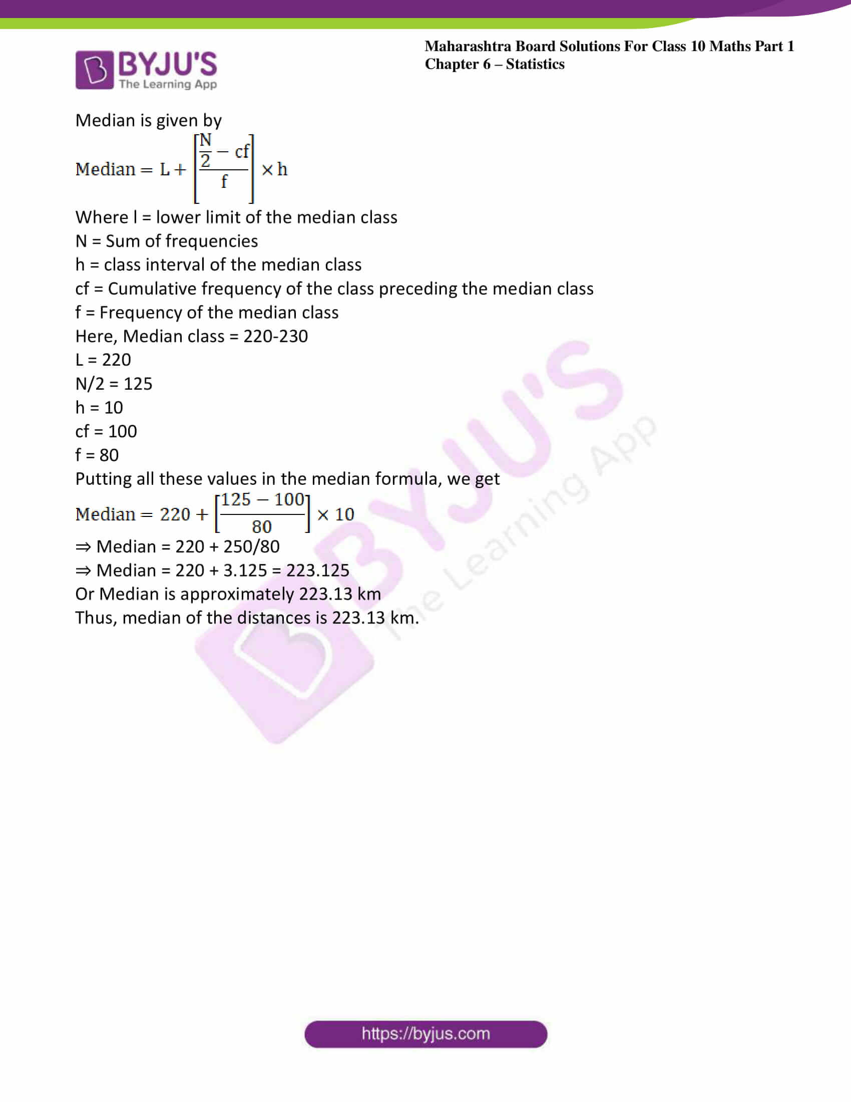 msbshse solutions class 10 maths part 1 chapter 6 23