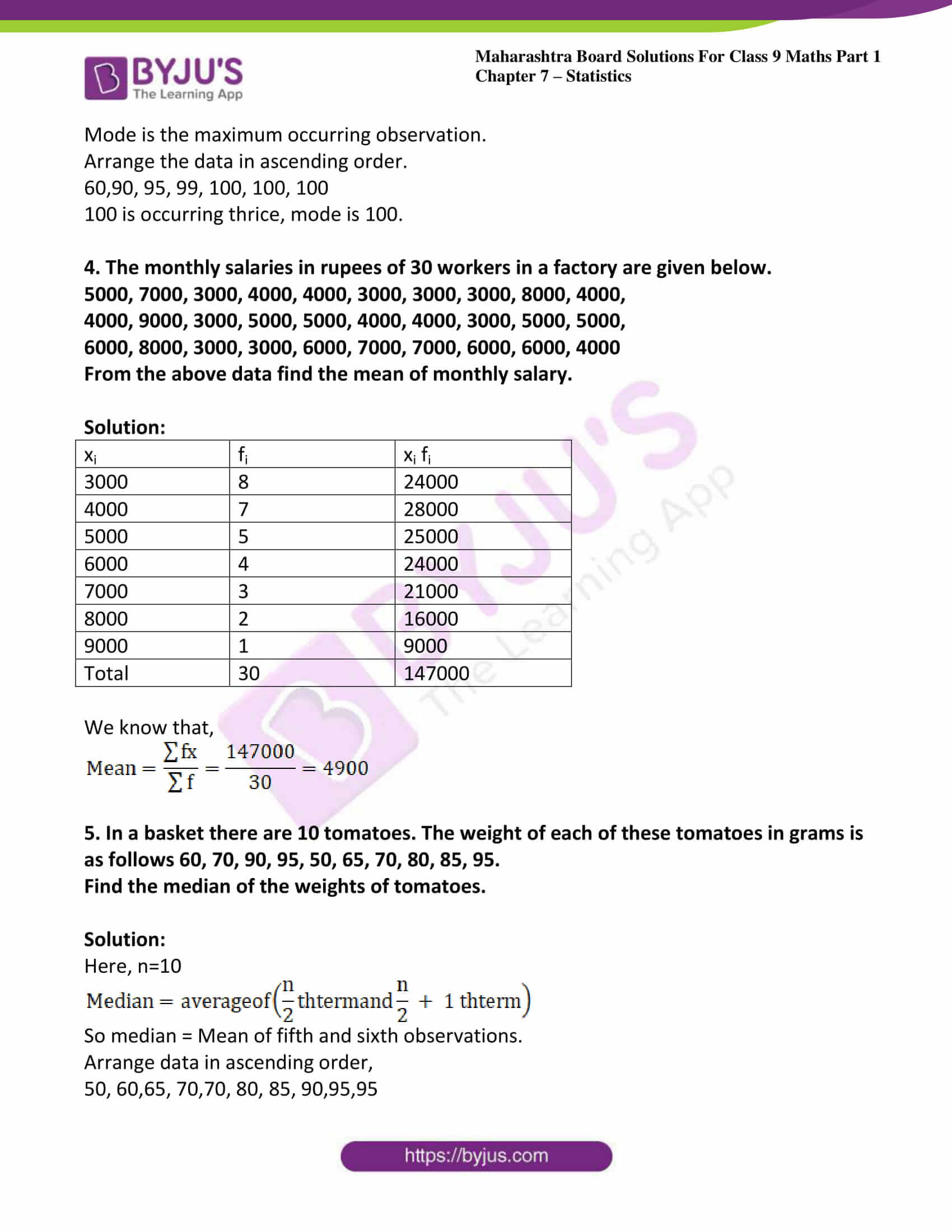 msbshse solutions for class 9 maths part 1 chapter 7 16