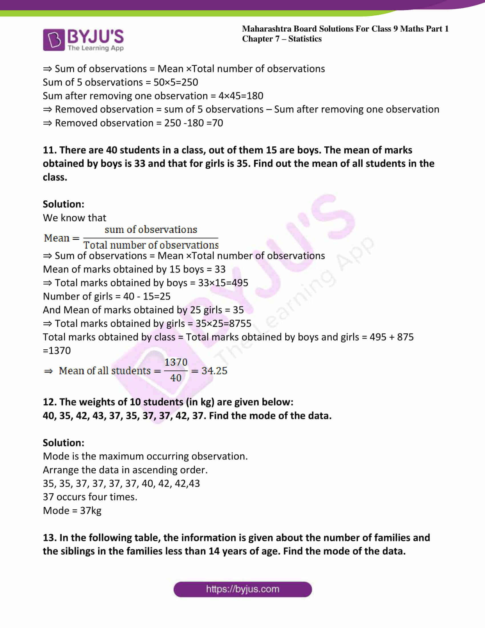 msbshse solutions for class 9 maths part 1 chapter 7 19