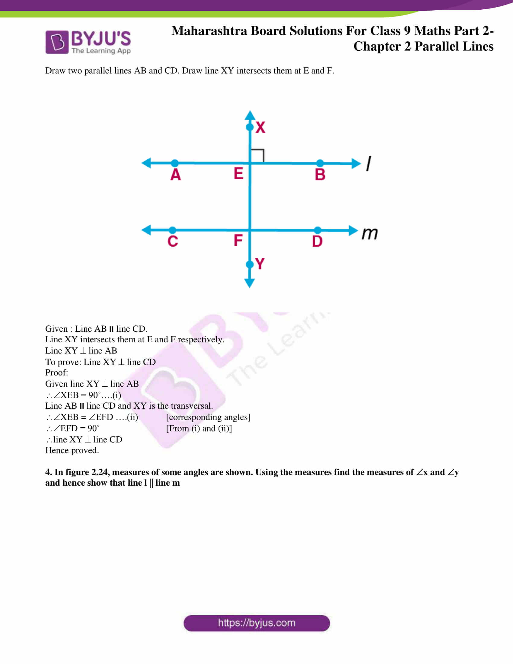 msbshse solutions for class 9 maths part 2 chapter 2 14