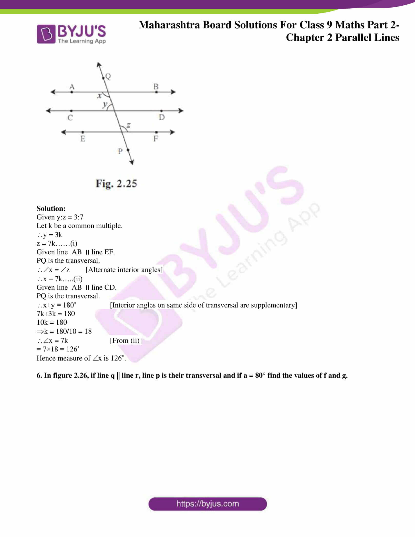 msbshse solutions for class 9 maths part 2 chapter 2 16