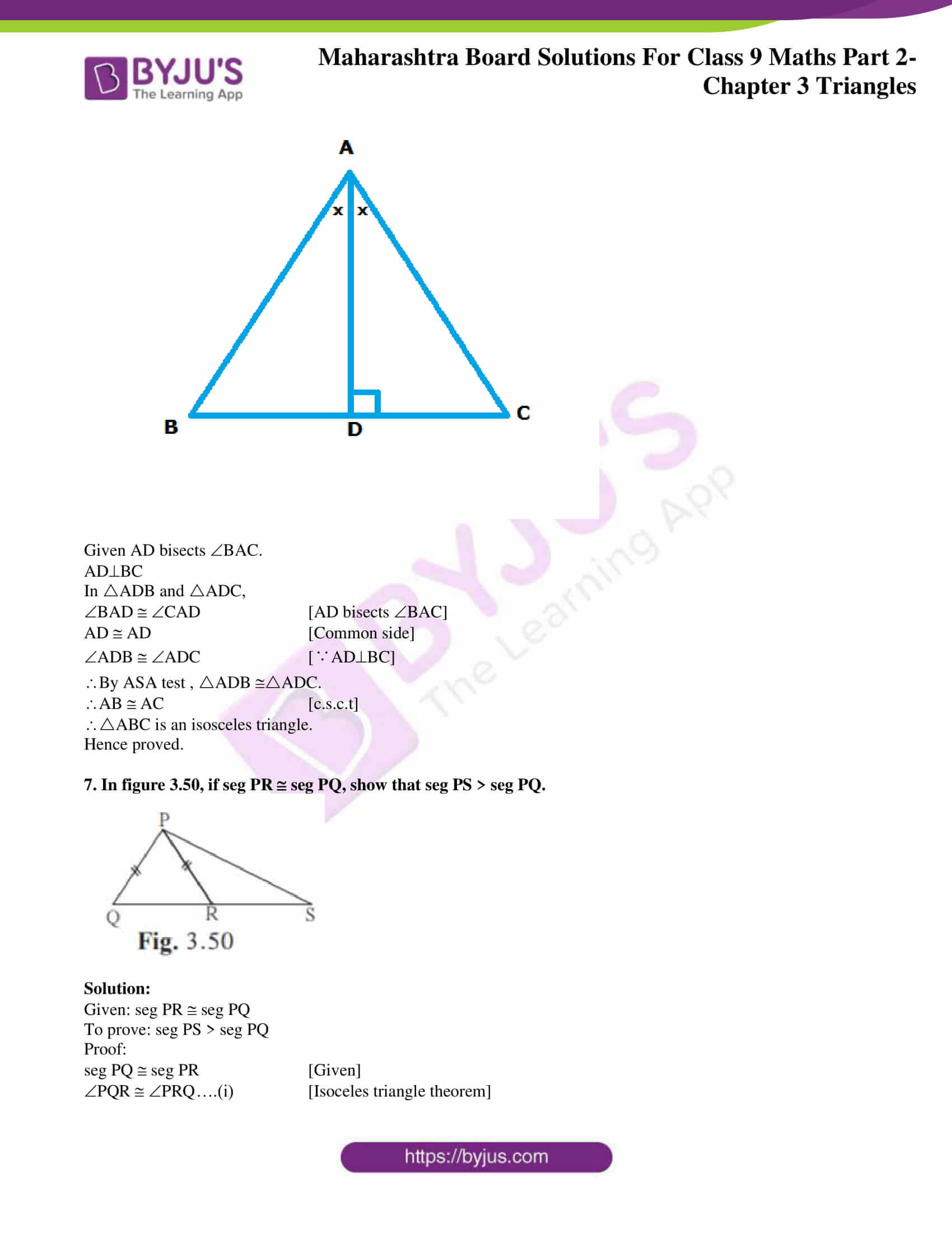 msbshse solutions for class 9 maths part 2 chapter 3 17