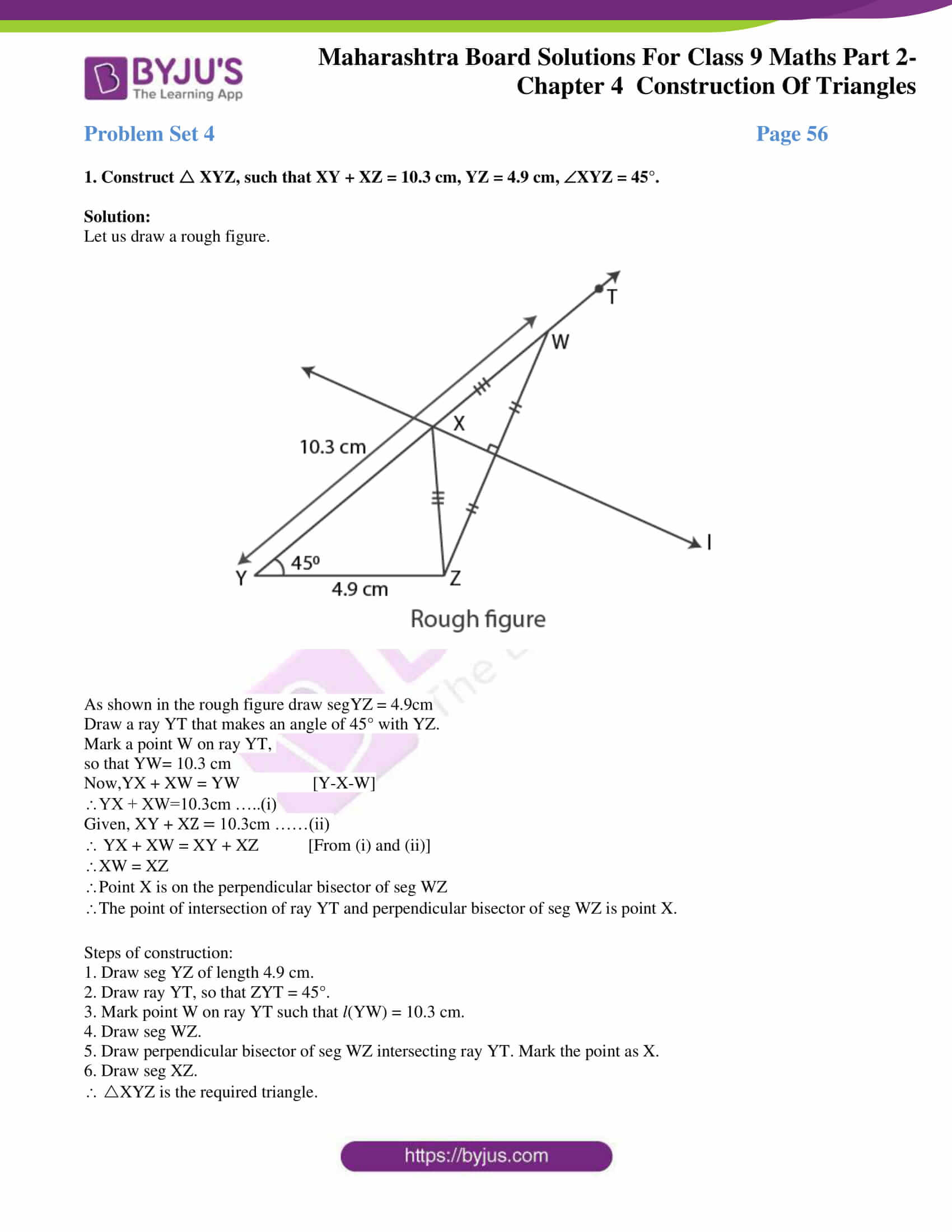 msbshse solutions for class 9 maths part 2 chapter 4 16