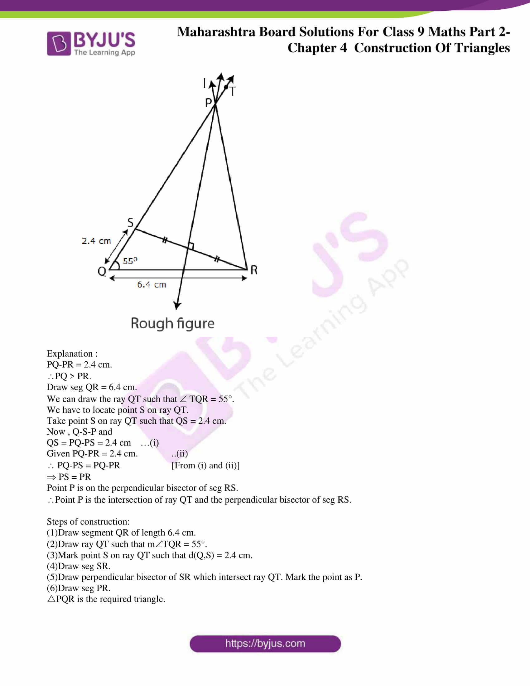 msbshse solutions for class 9 maths part 2 chapter 4 21