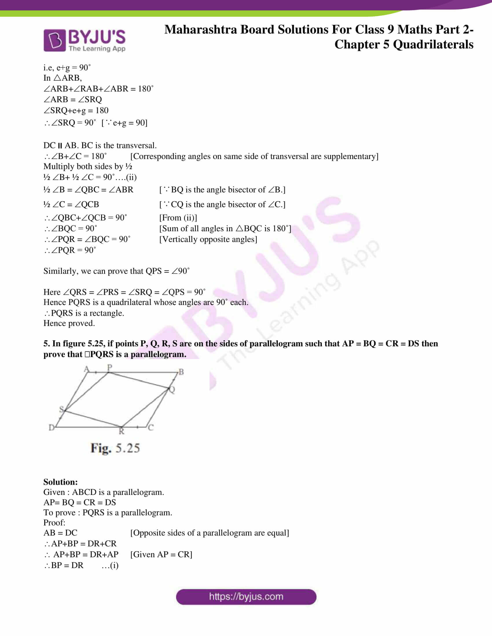 msbshse solutions for class 9 maths part 2 chapter 5 09