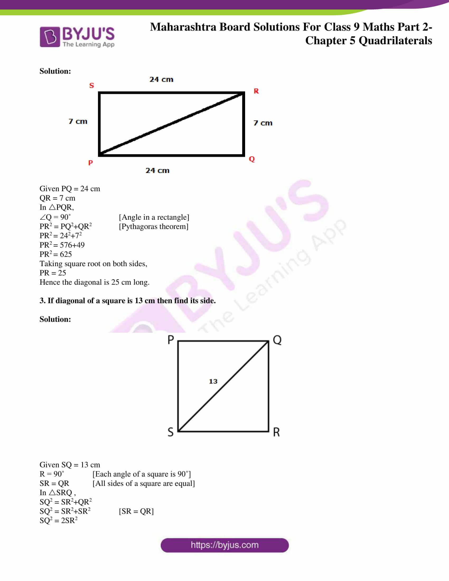 msbshse solutions for class 9 maths part 2 chapter 5 21