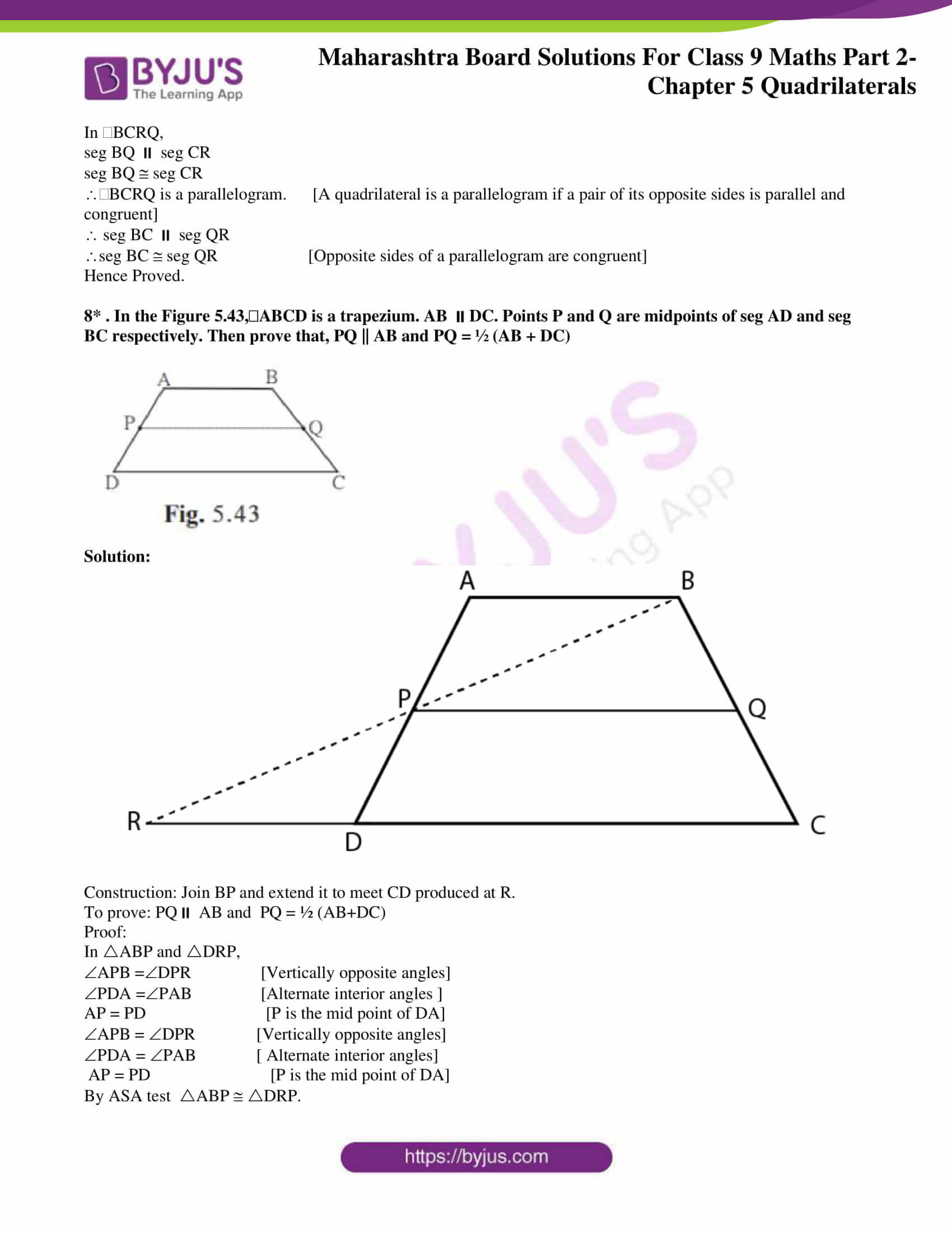 msbshse solutions for class 9 maths part 2 chapter 5 25