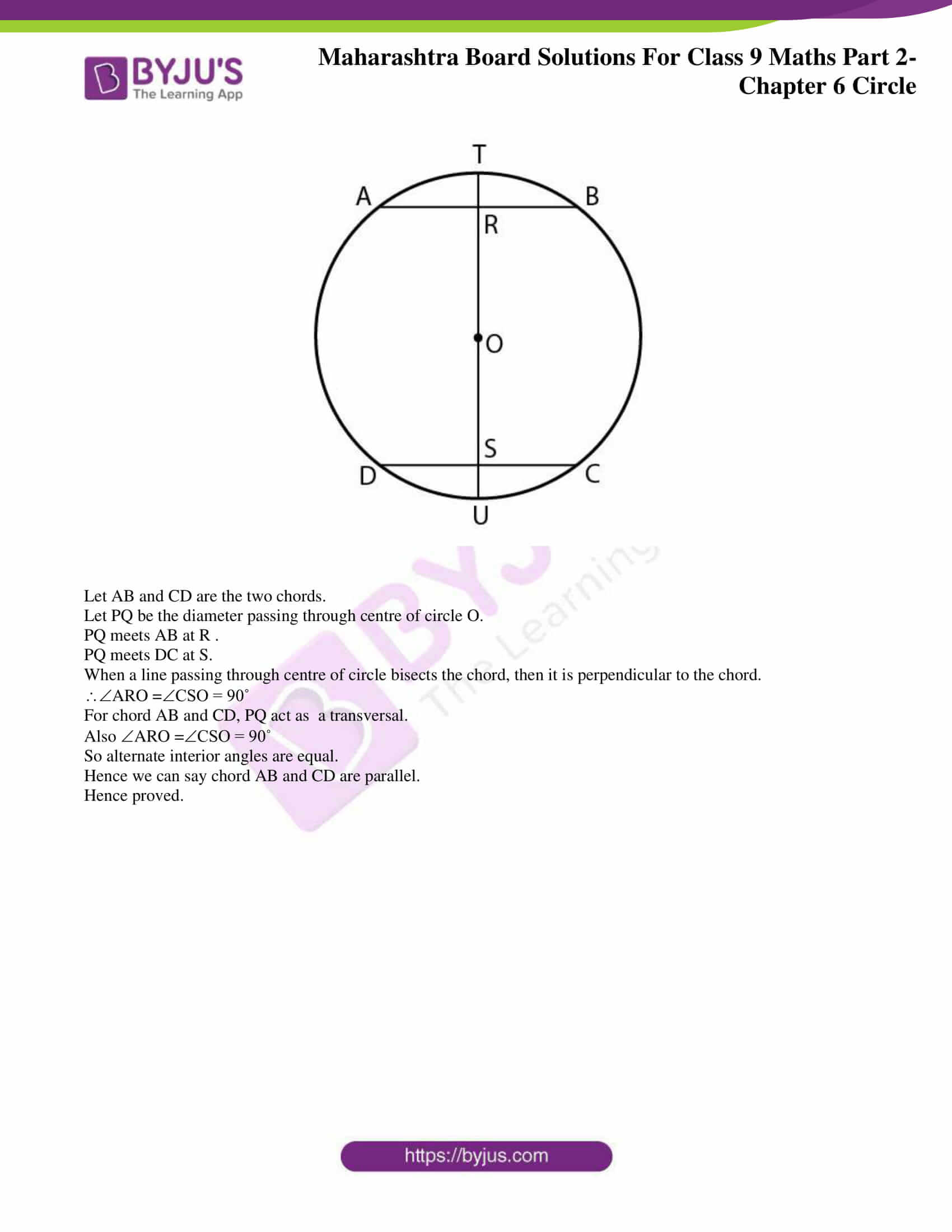 msbshse solutions for class 9 maths part 2 chapter 6 06