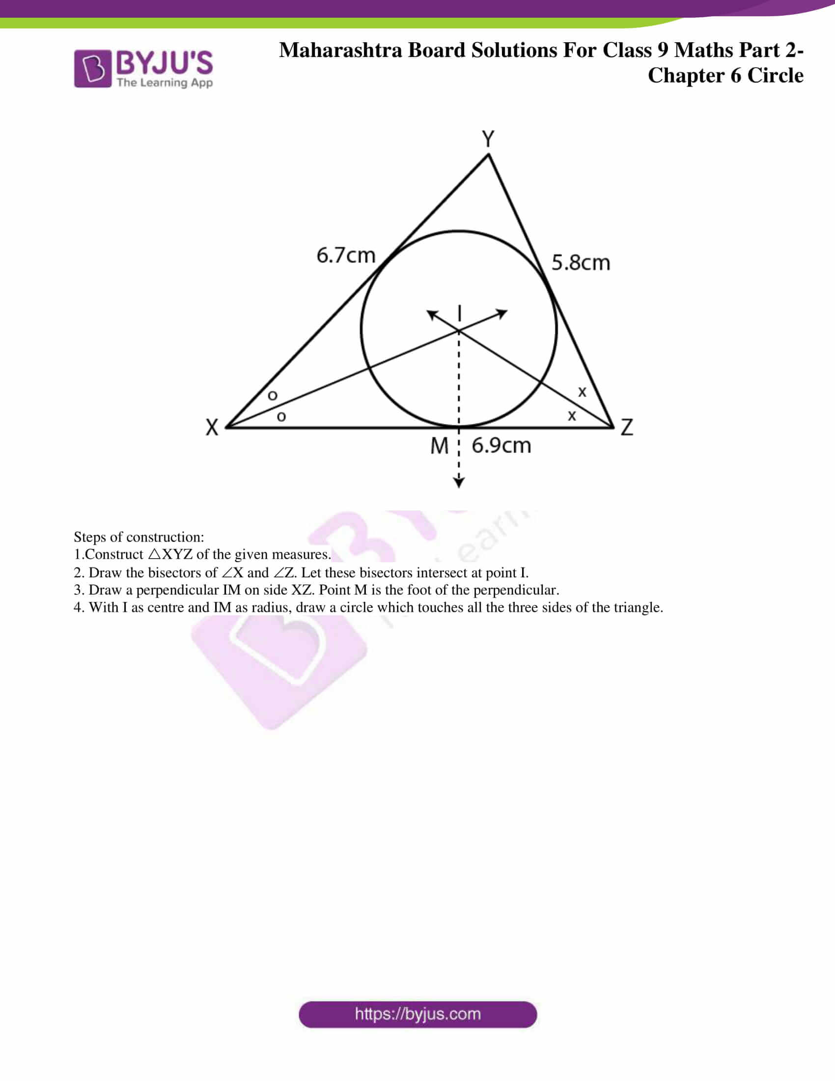 msbshse solutions for class 9 maths part 2 chapter 6 14