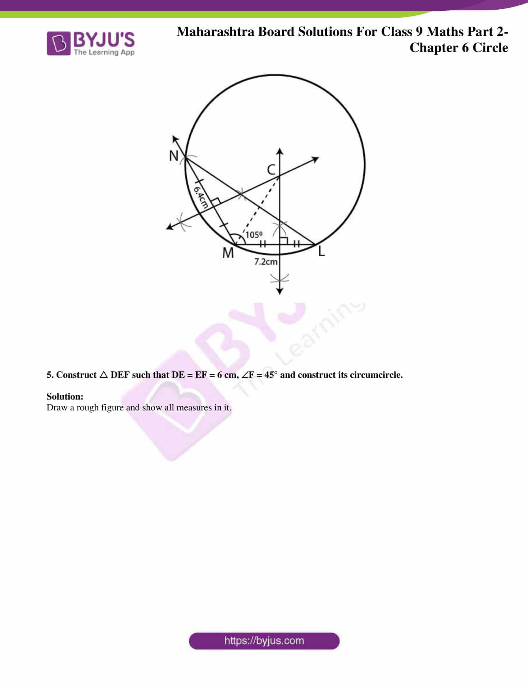 msbshse solutions for class 9 maths part 2 chapter 6 17