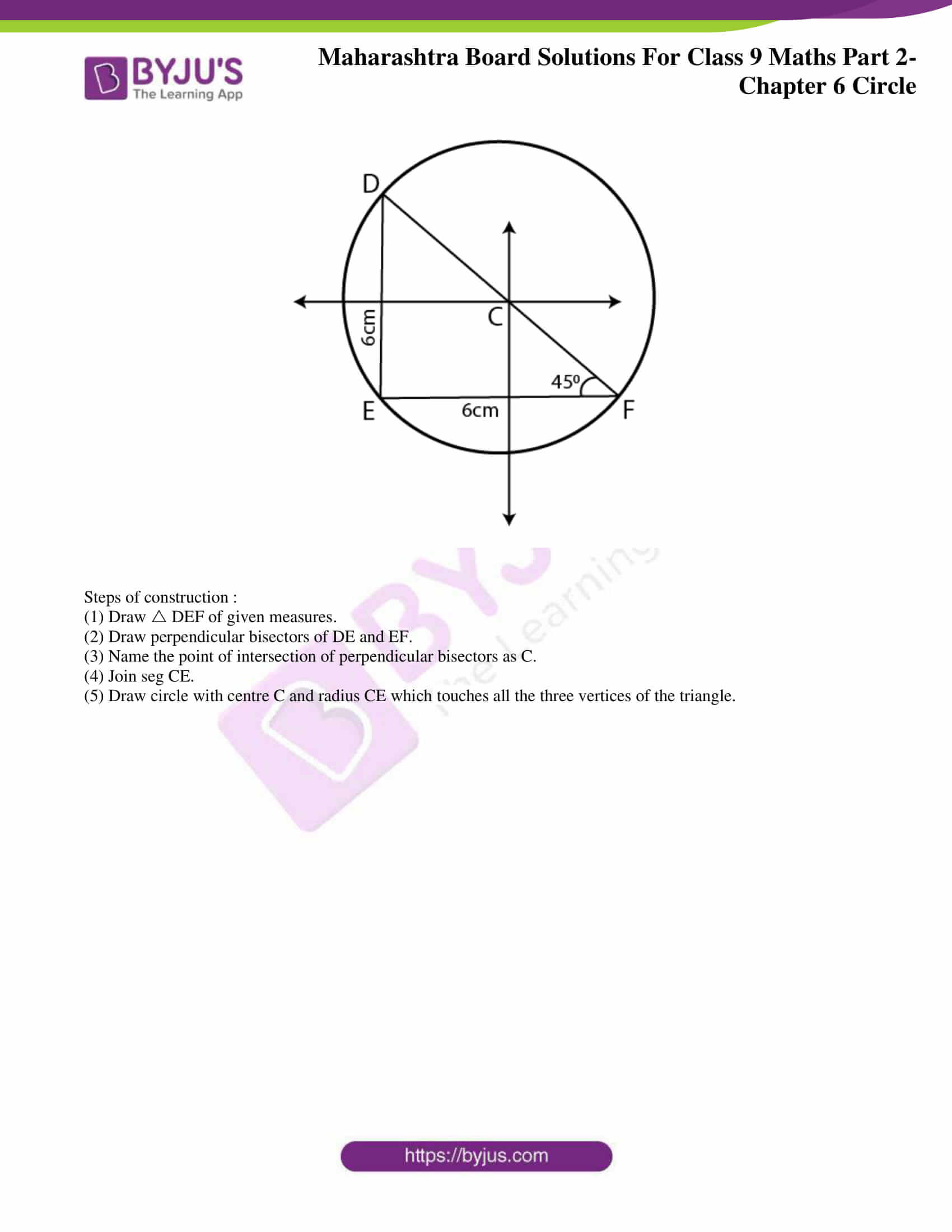 msbshse solutions for class 9 maths part 2 chapter 6 18