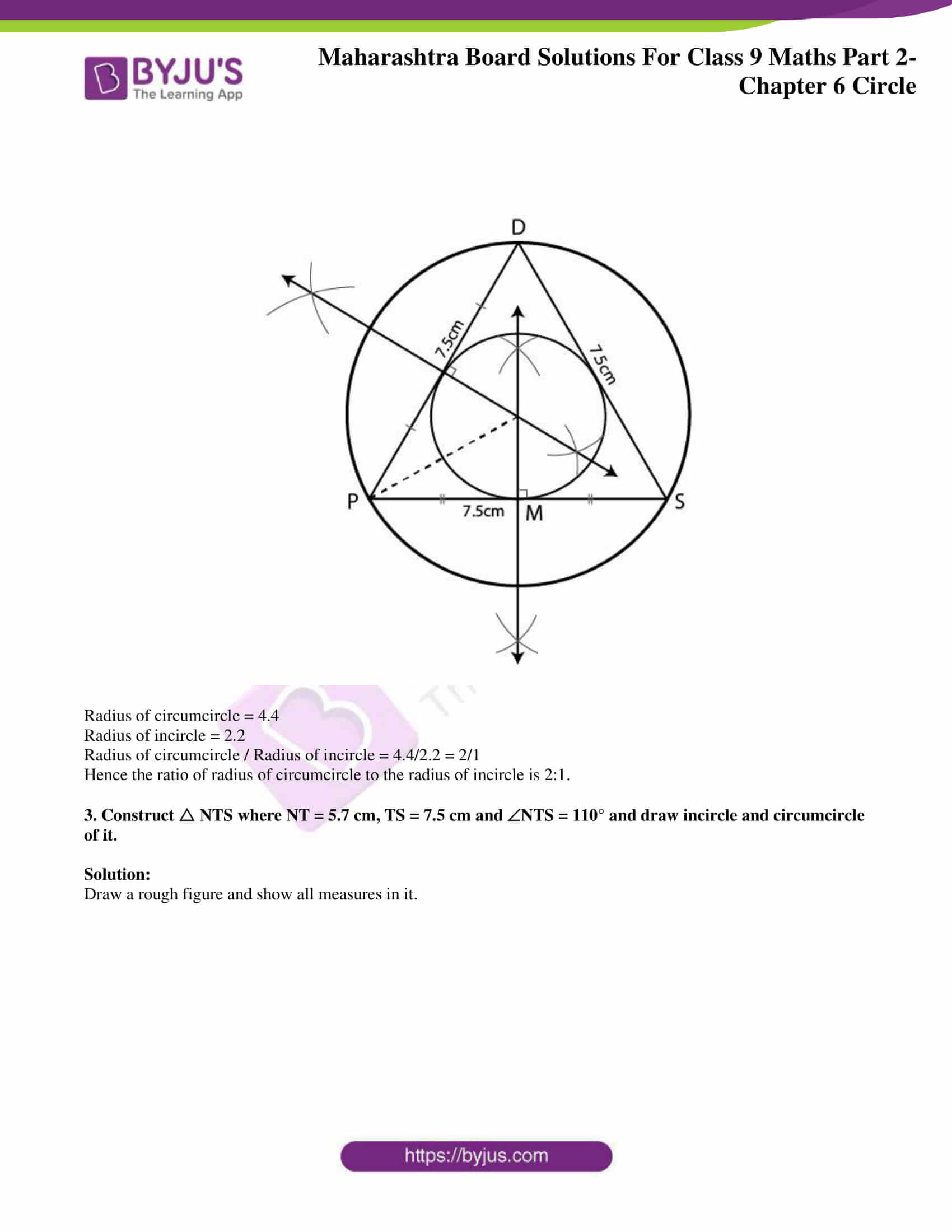 msbshse solutions for class 9 maths part 2 chapter 6 24