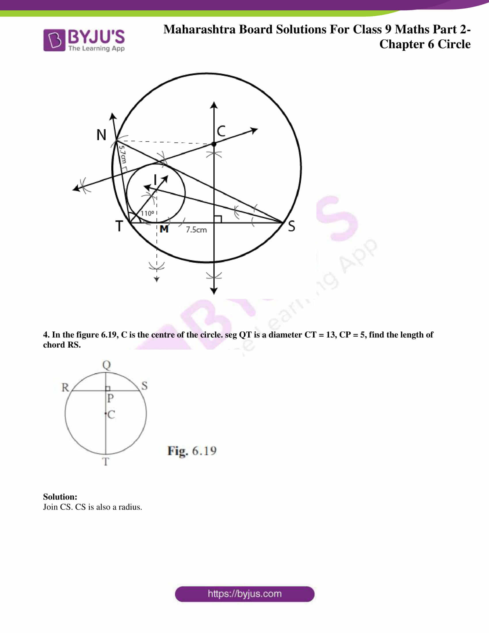 msbshse solutions for class 9 maths part 2 chapter 6 26