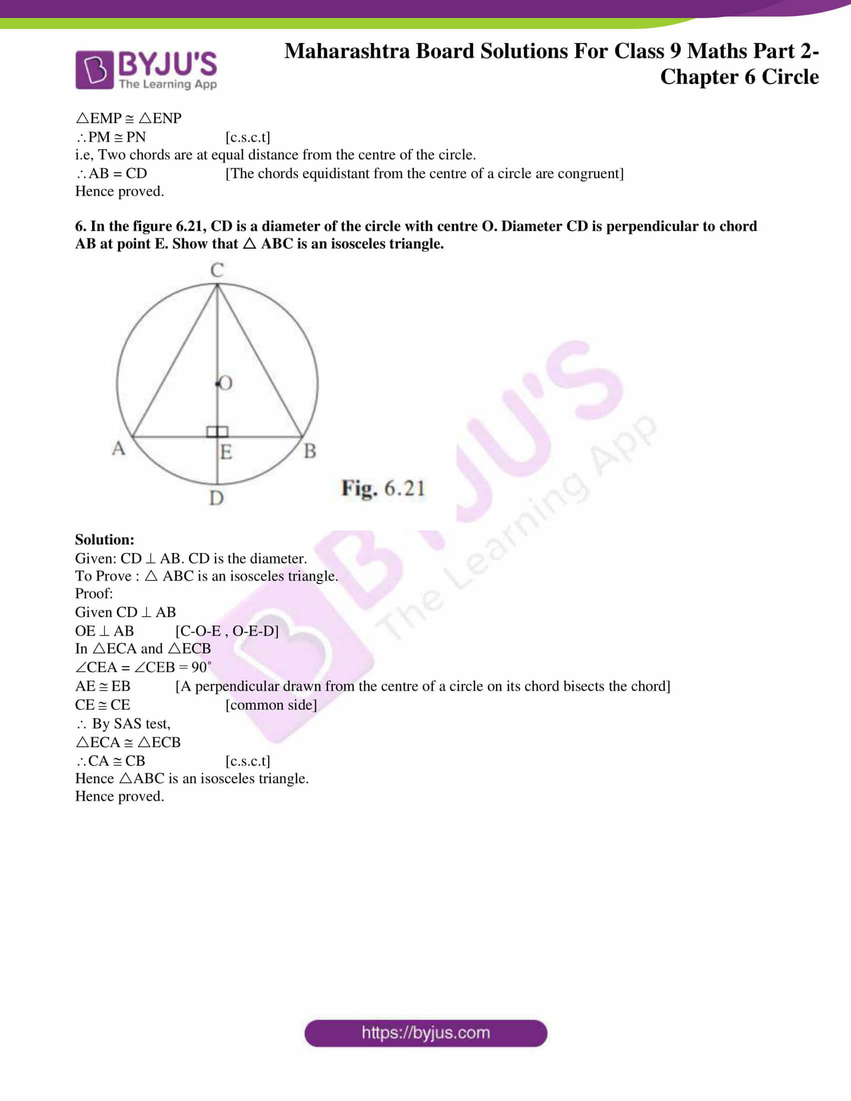 msbshse solutions for class 9 maths part 2 chapter 6 29