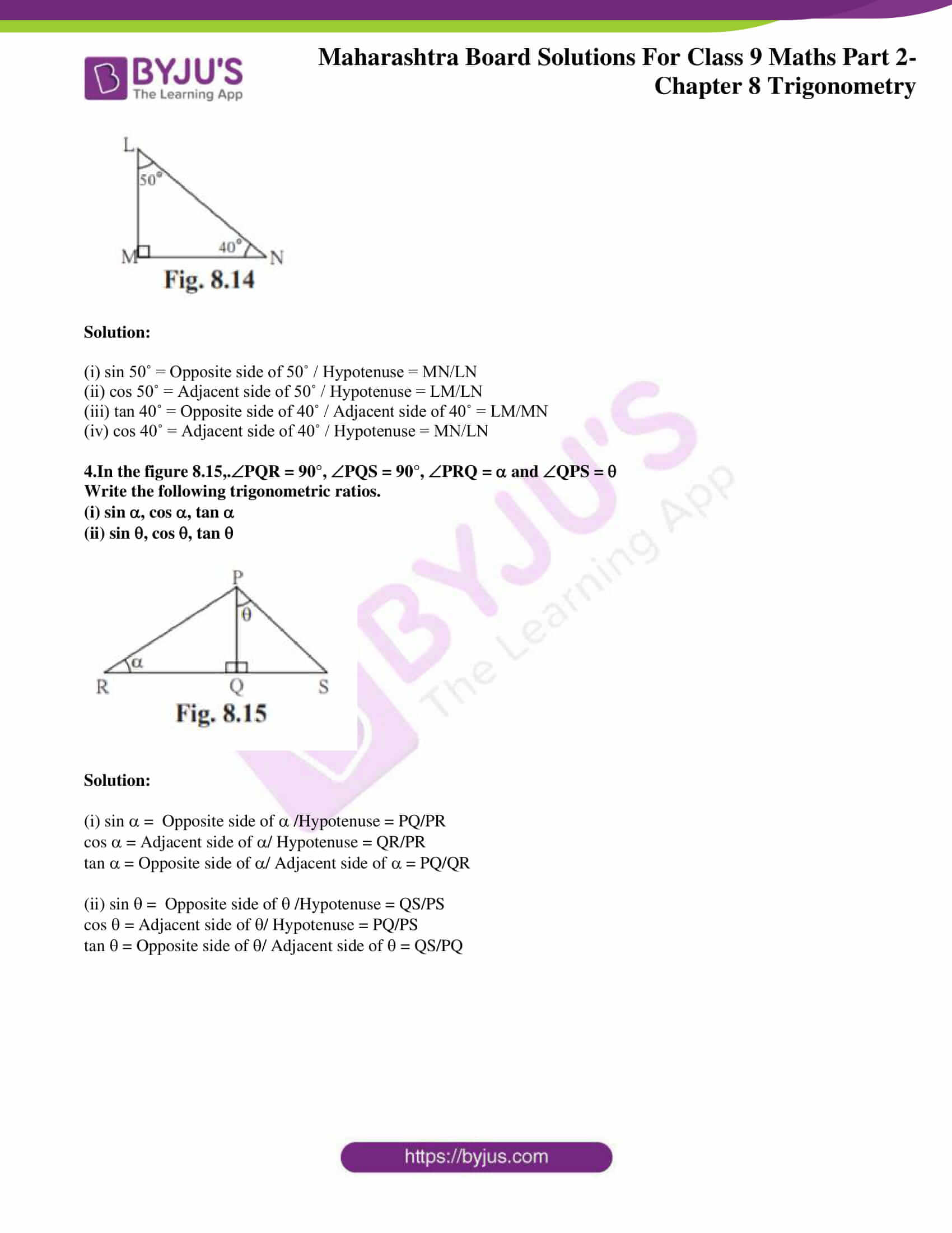 msbshse solutions for class 9 maths part 2 chapter 8 02