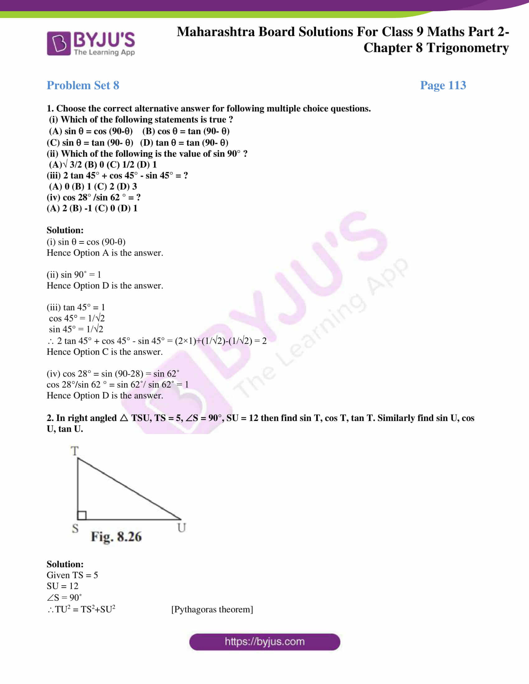 msbshse solutions for class 9 maths part 2 chapter 8 08