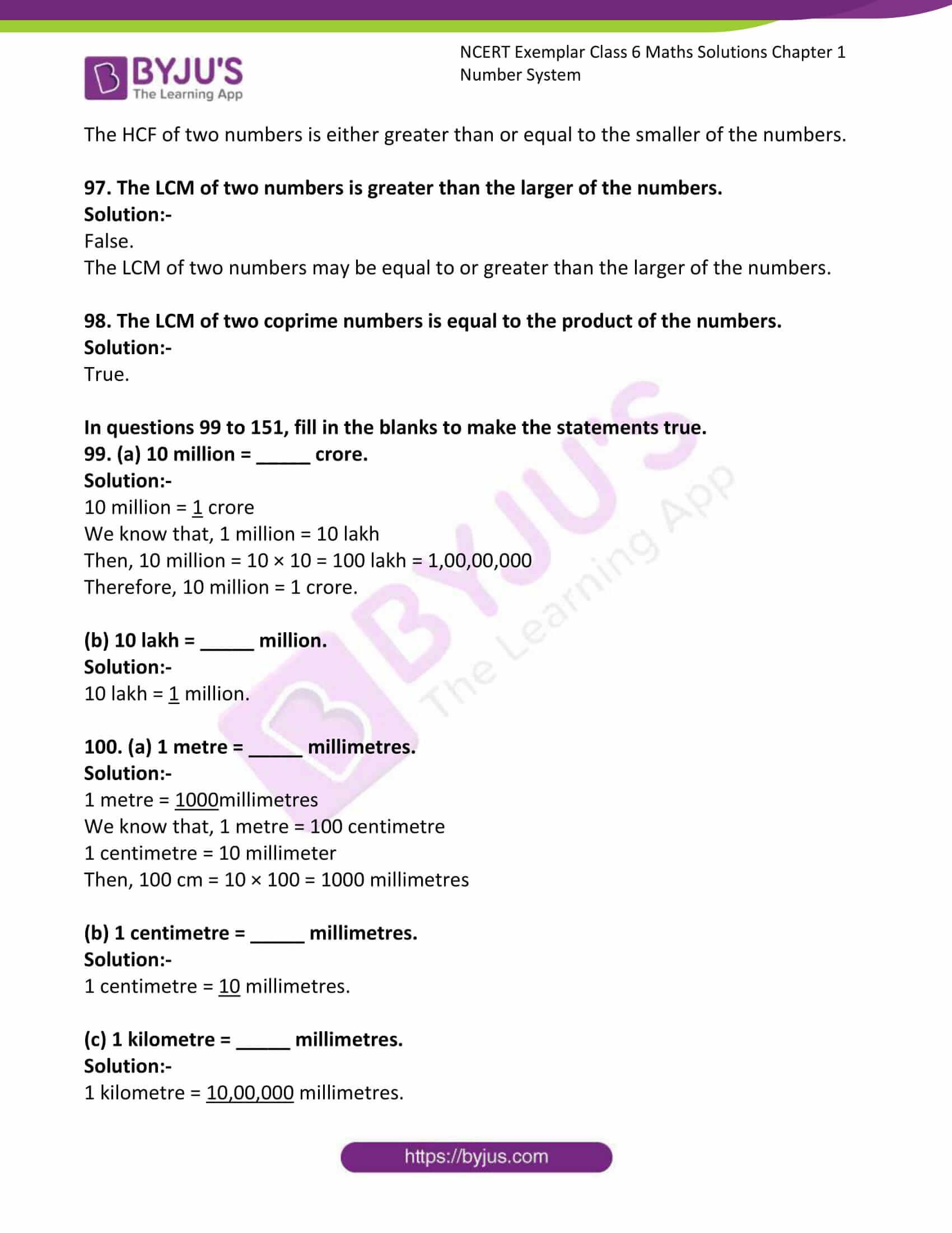 ncert exemplar class 6 maths sol ch 1 22