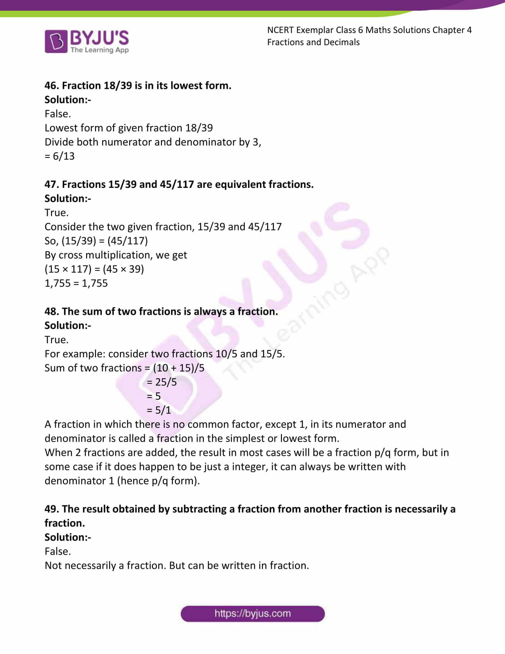 ncert exemplar class 6 maths sol ch 4 11