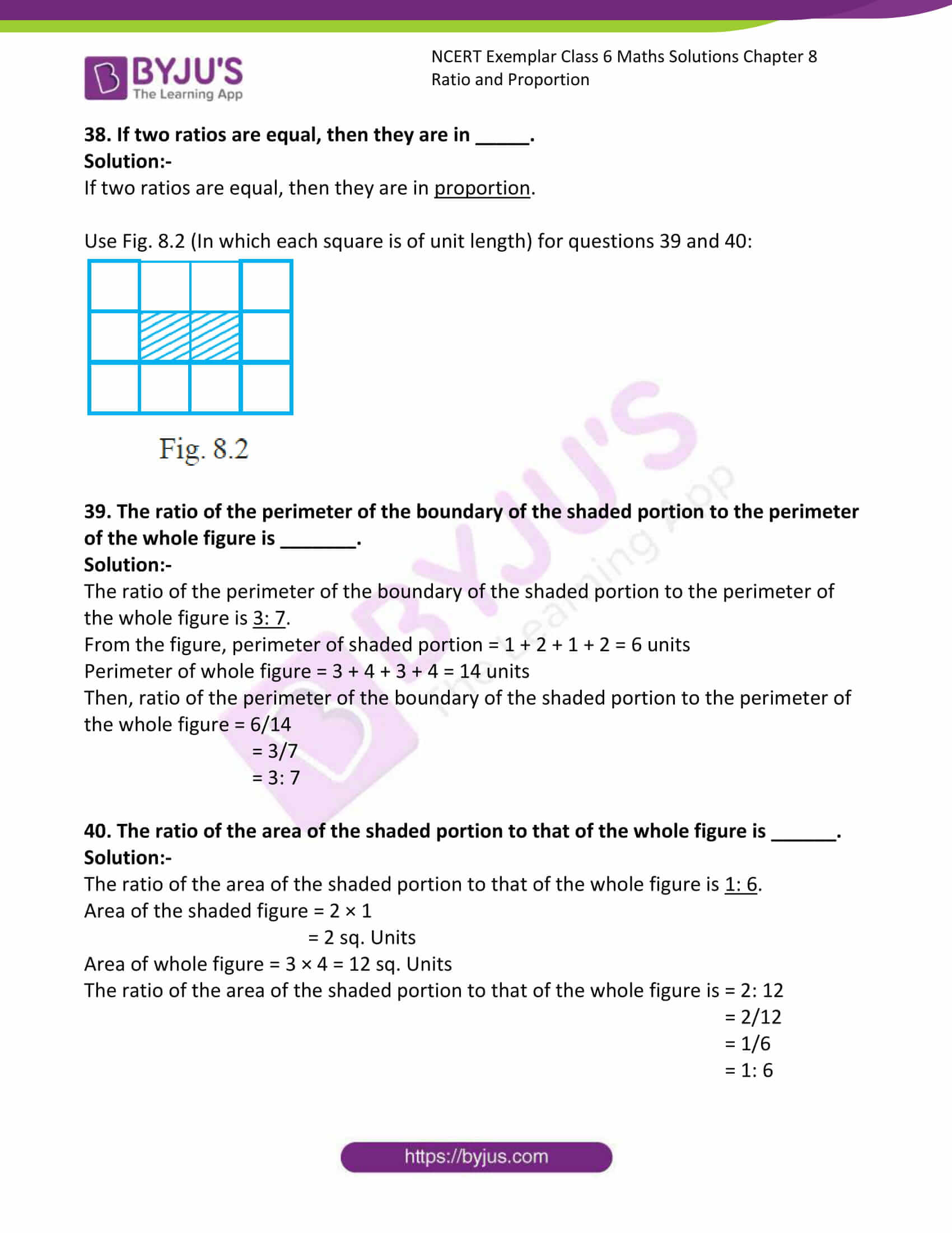ncert exemplar class 6 maths sol ch 8 13