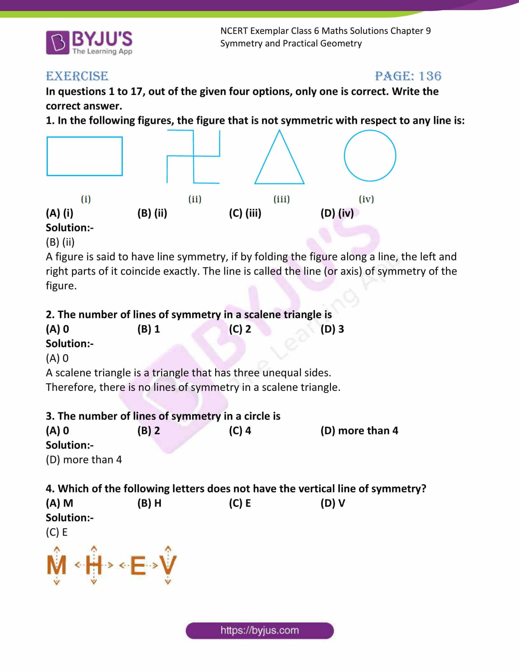 ncert exemplar class 6 maths sol ch 9 1