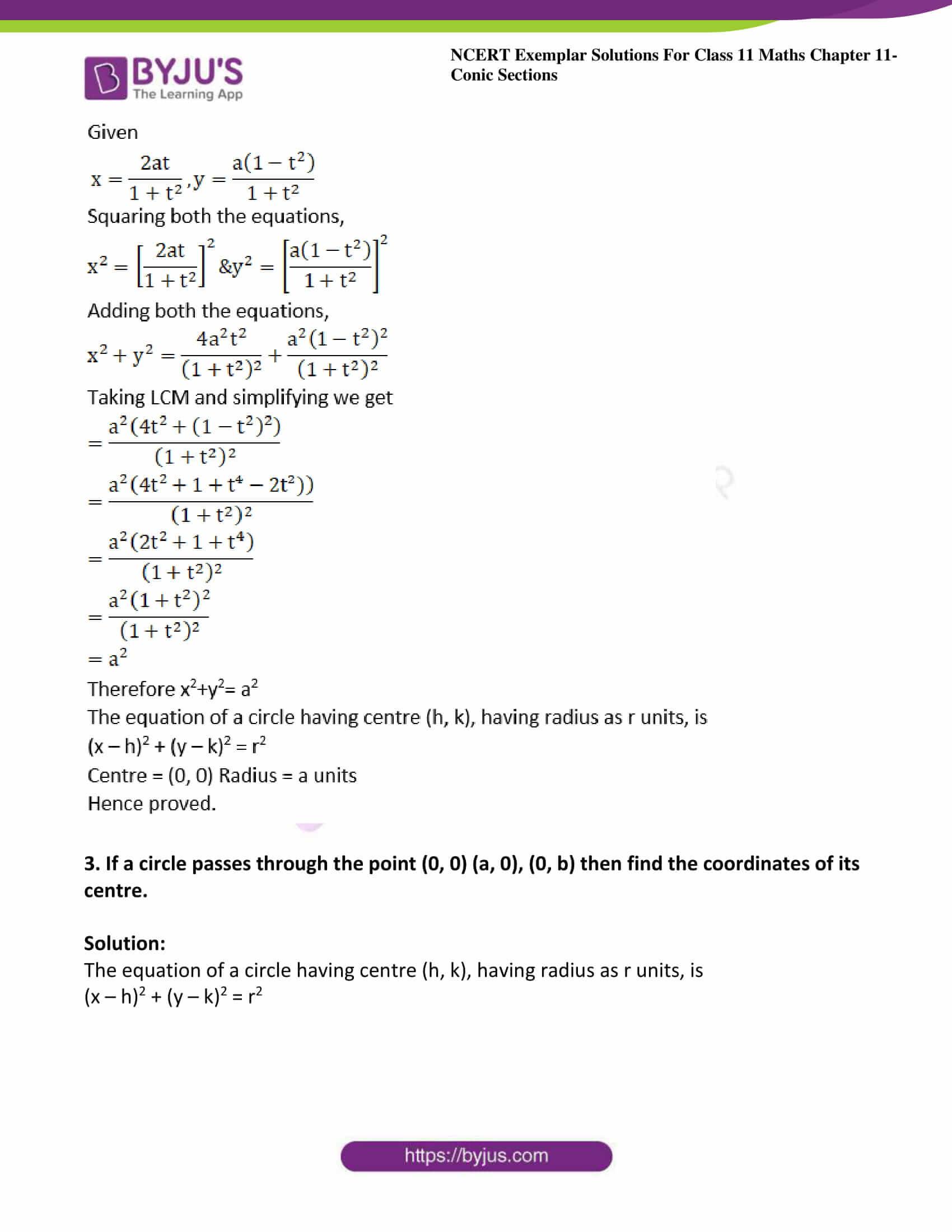 ncert exemplar sol class 11 maths chpt 11 conic 02