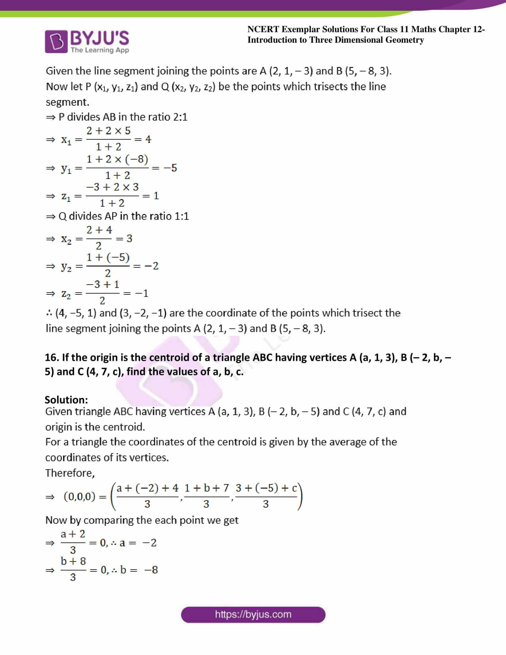 ncert exemplar sol class 11 maths chpt 12 three dimensional 08