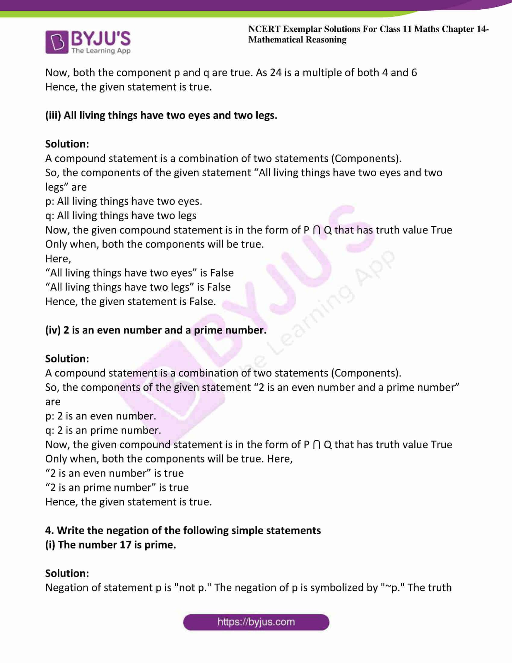 ncert exemplar sol class 11 maths chpt 14 mathematical 06