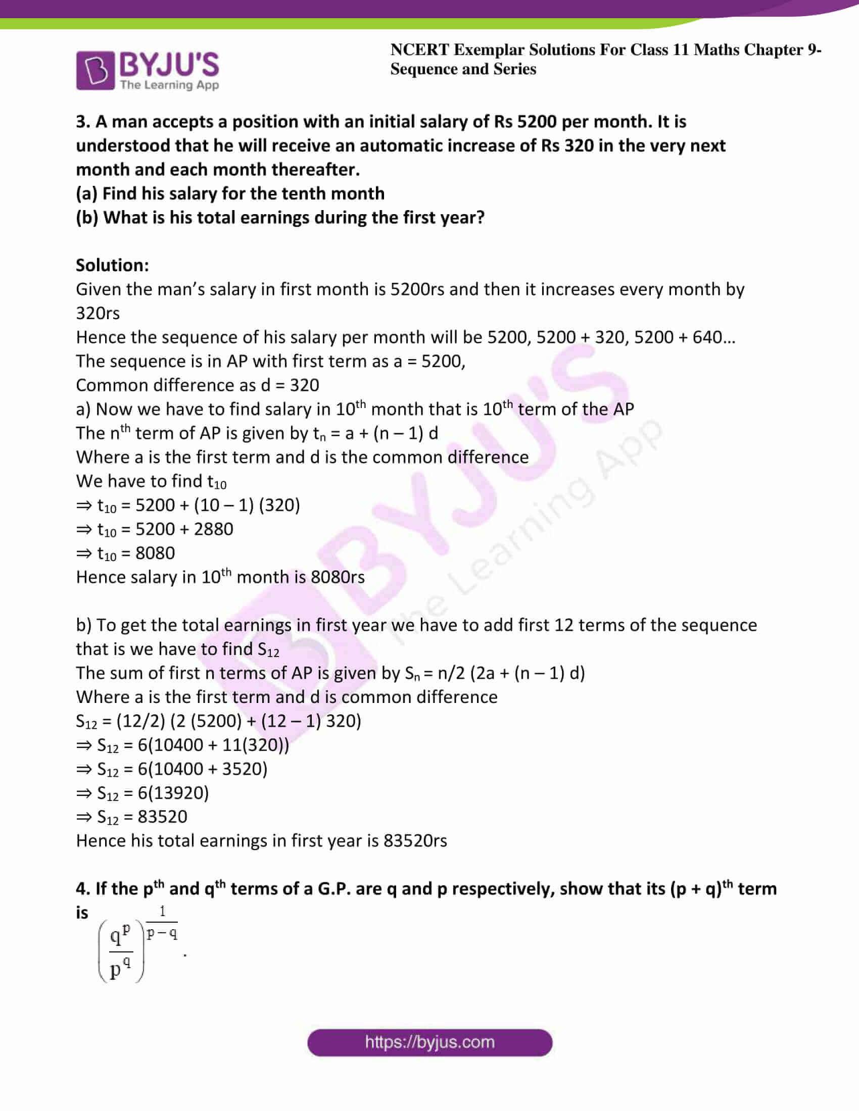 ncert exemplar sol class 11 maths chpt 9 sequence 03