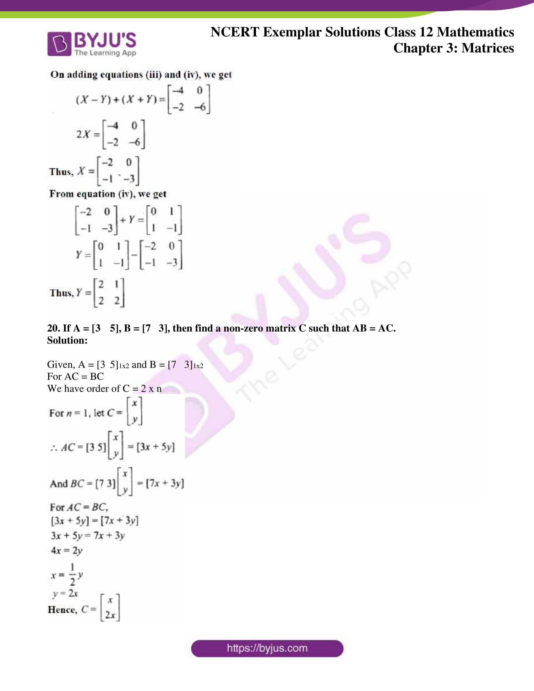 ncert exemplar sol class 12 math ch3 11