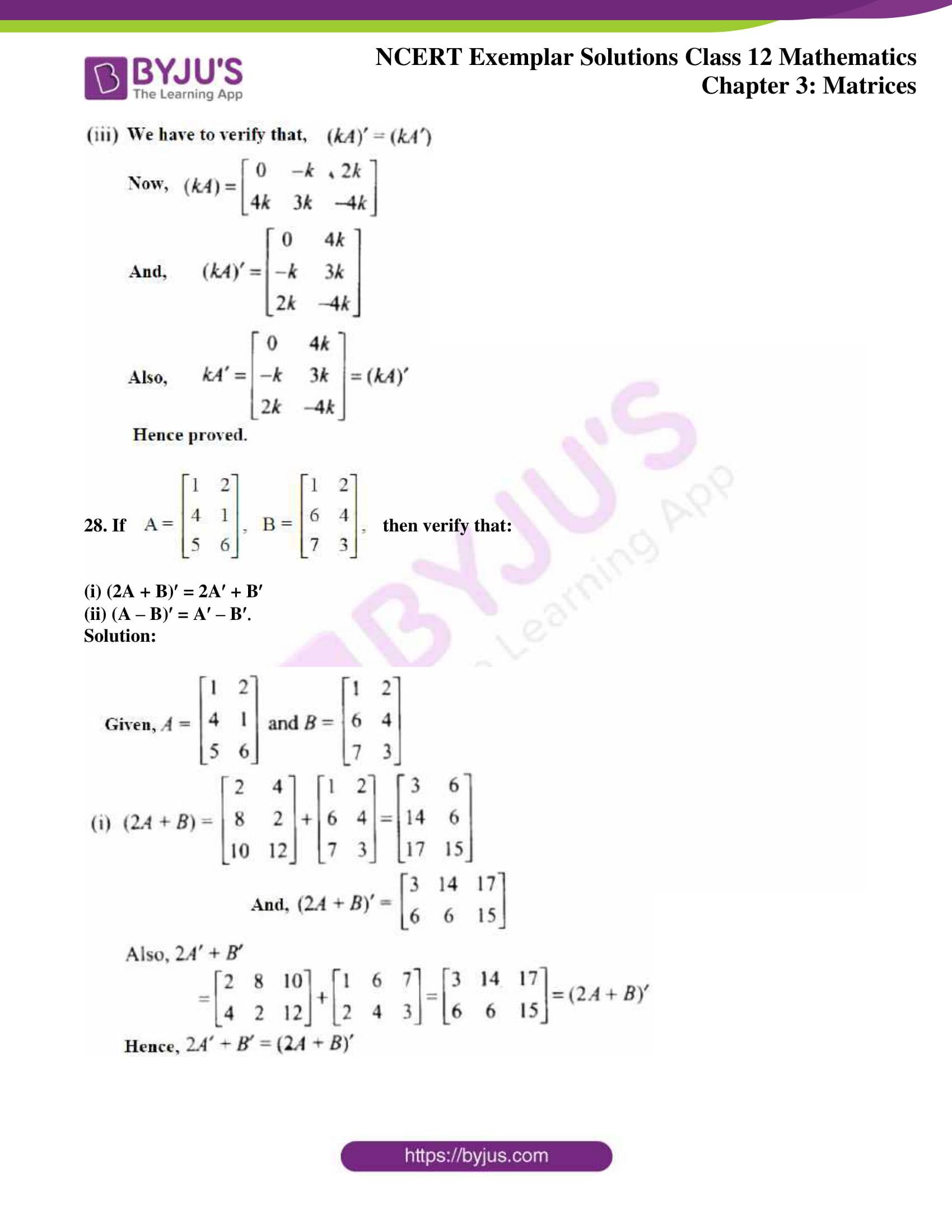 ncert exemplar sol class 12 math ch3 17