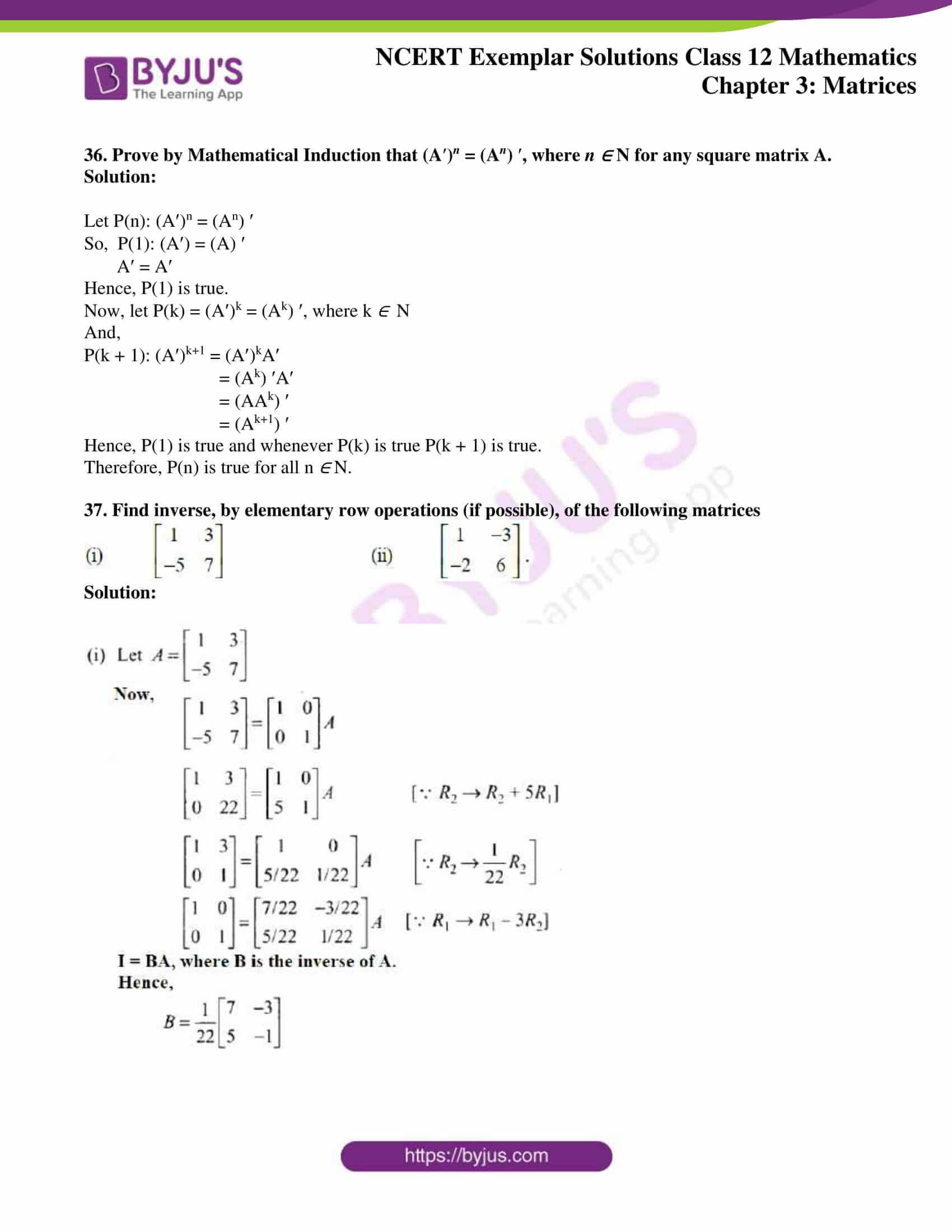 ncert exemplar sol class 12 math ch3 23