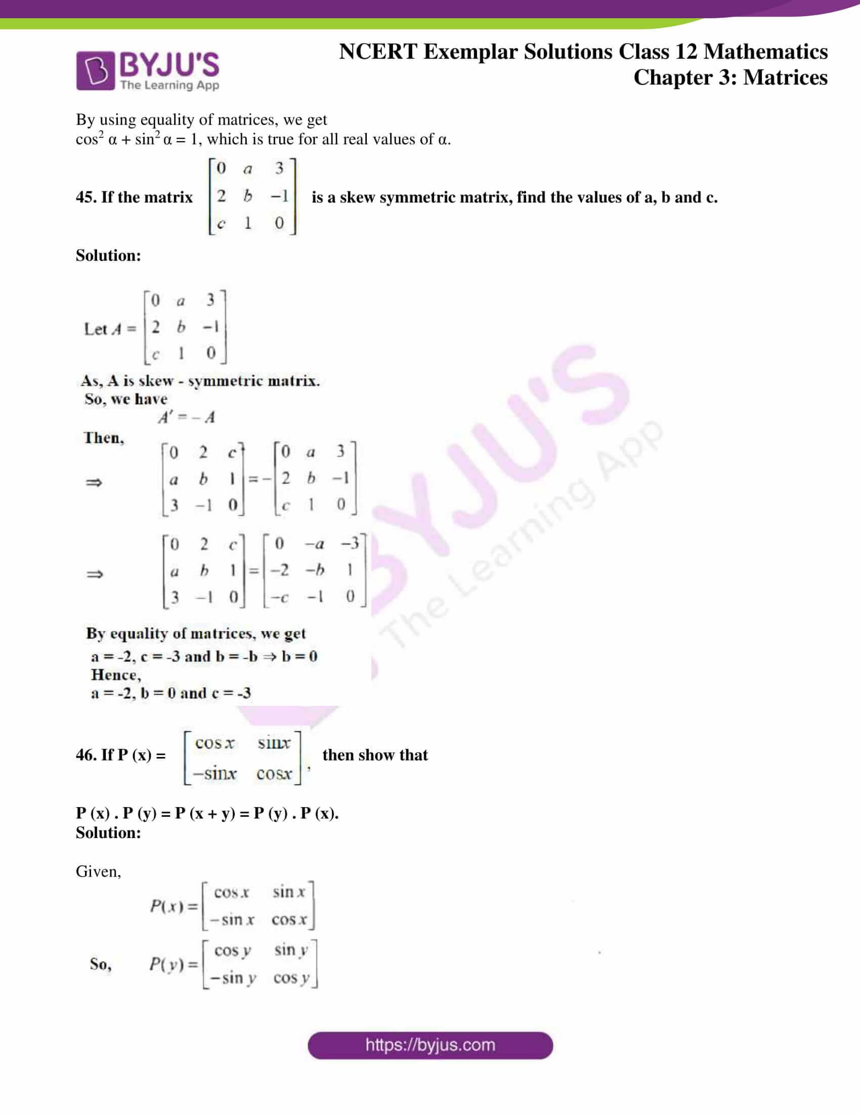 ncert exemplar sol class 12 math ch3 28