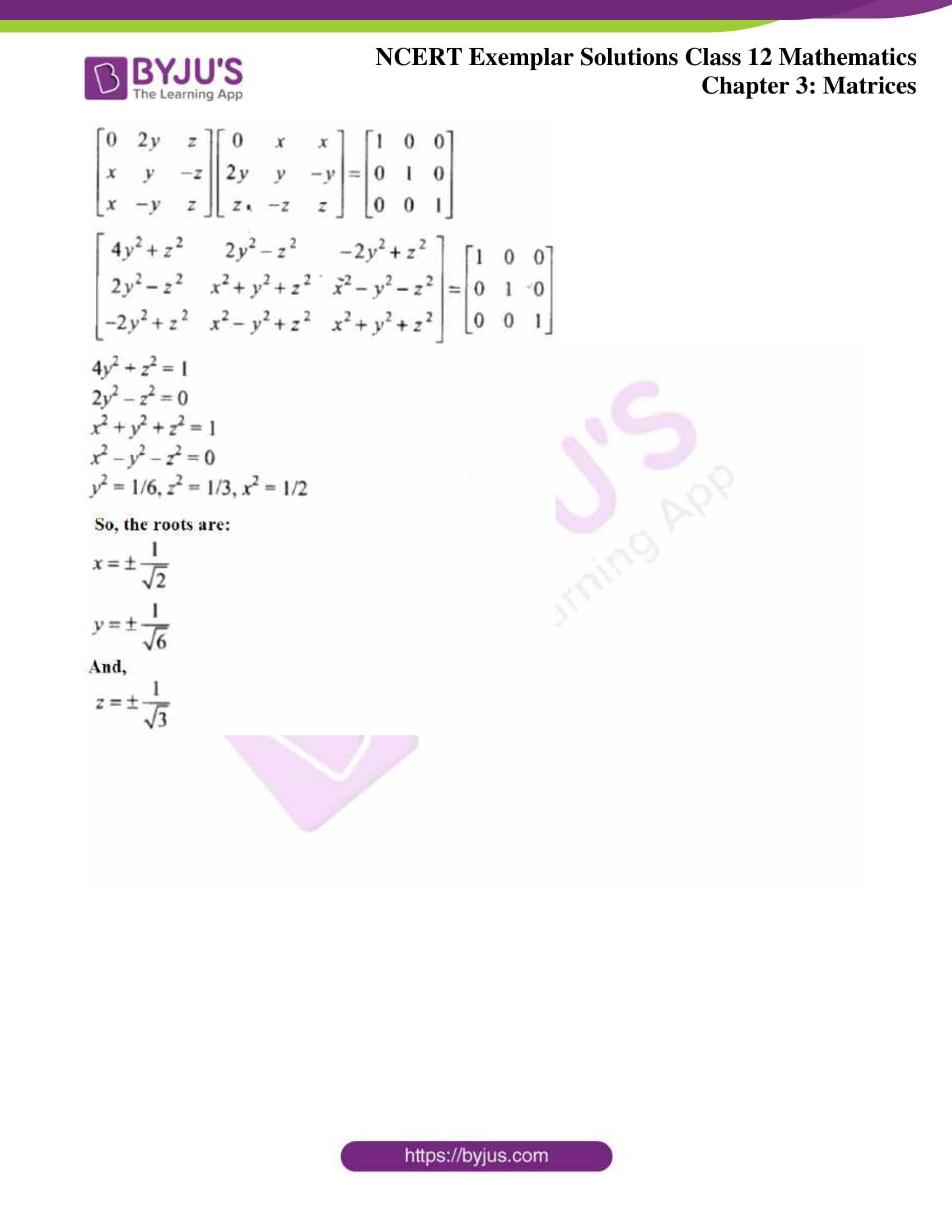 ncert exemplar sol class 12 math ch3 31