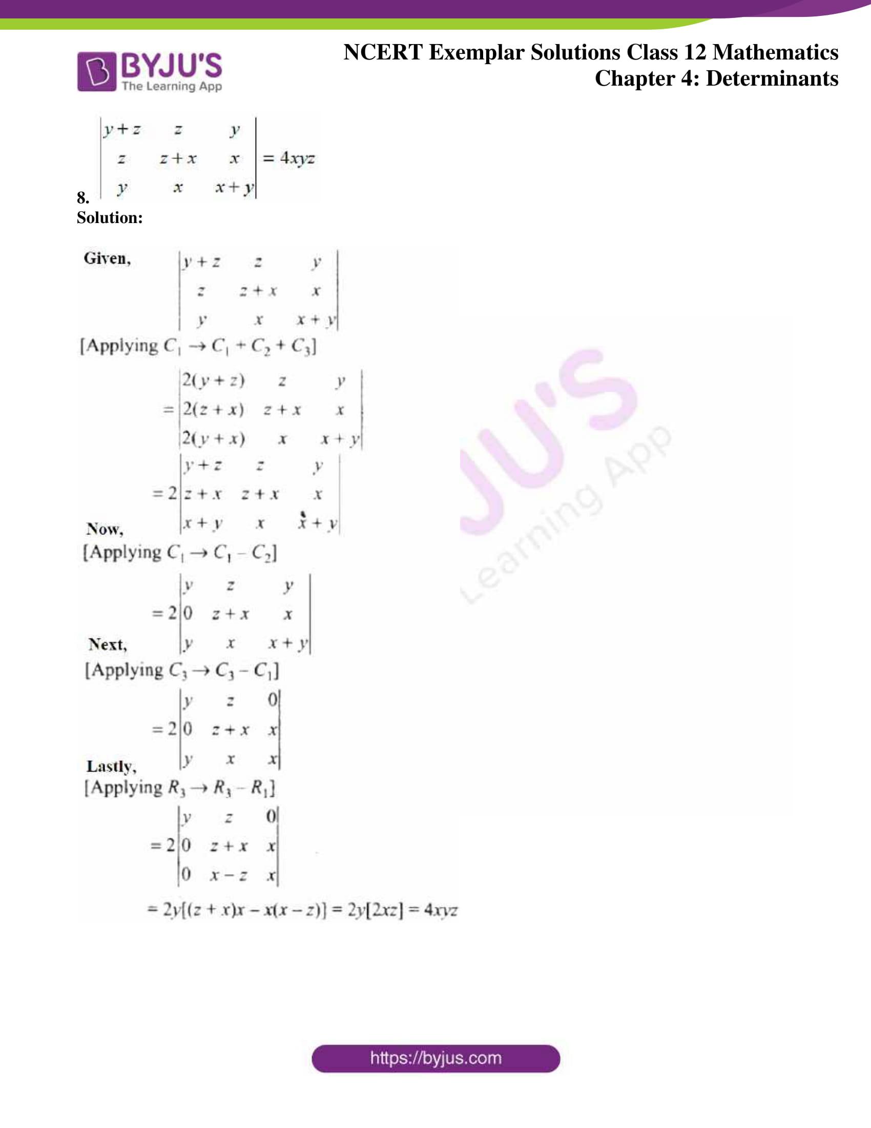 ncert exemplar sol class 12 math ch4 06