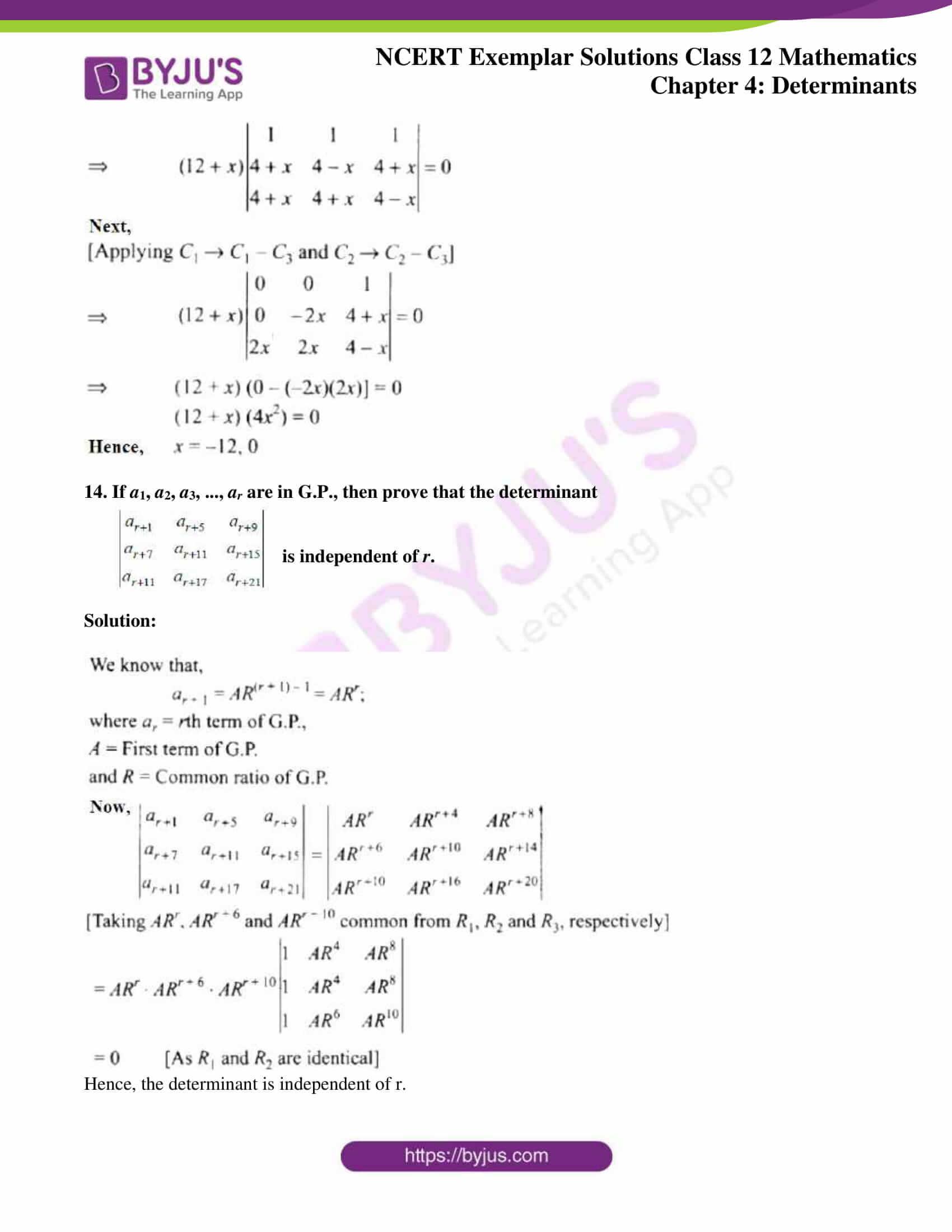ncert exemplar sol class 12 math ch4 10