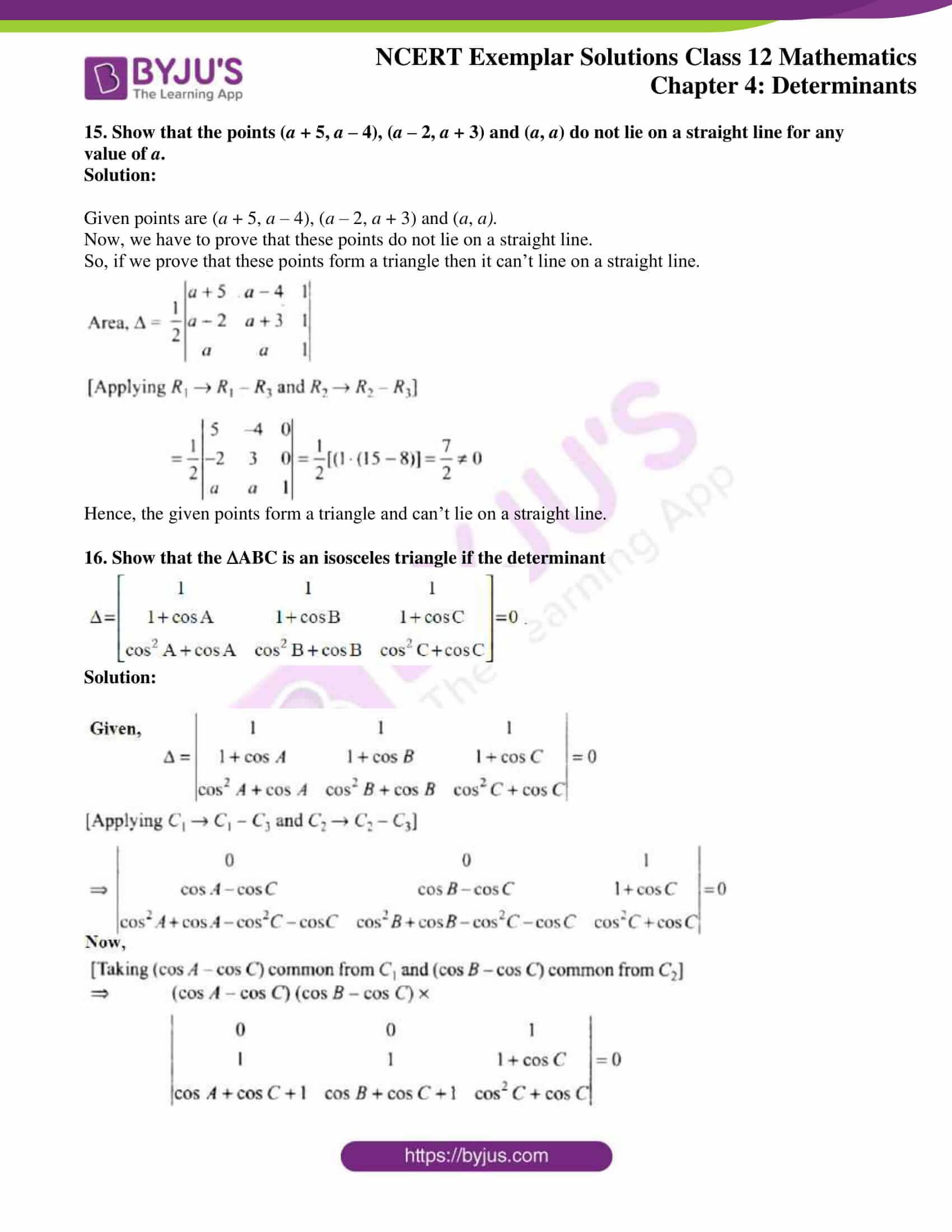 ncert exemplar sol class 12 math ch4 11