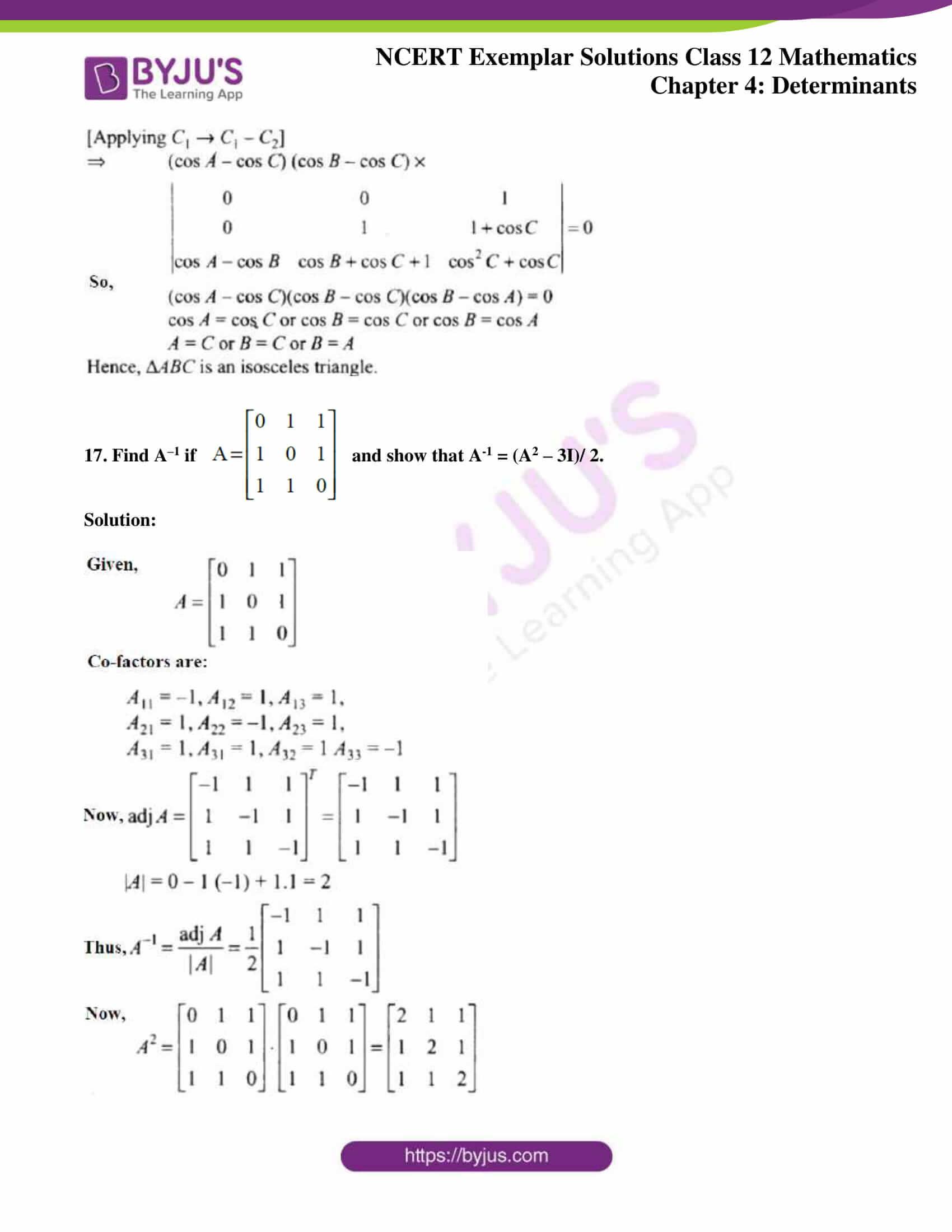 ncert exemplar sol class 12 math ch4 12