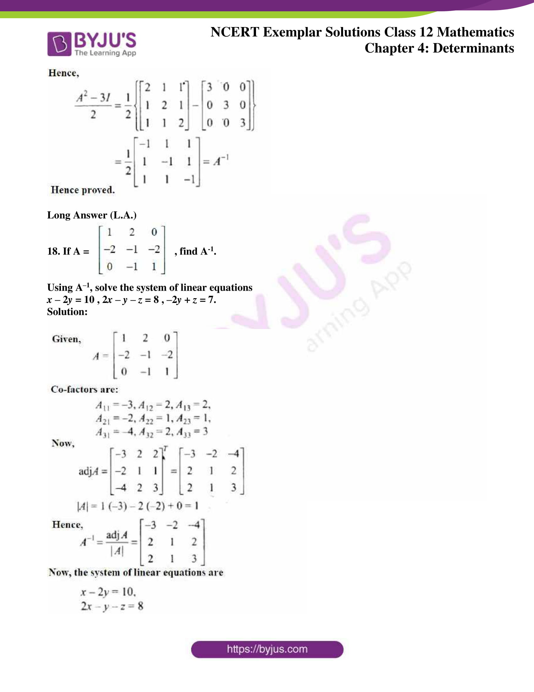 ncert exemplar sol class 12 math ch4 13