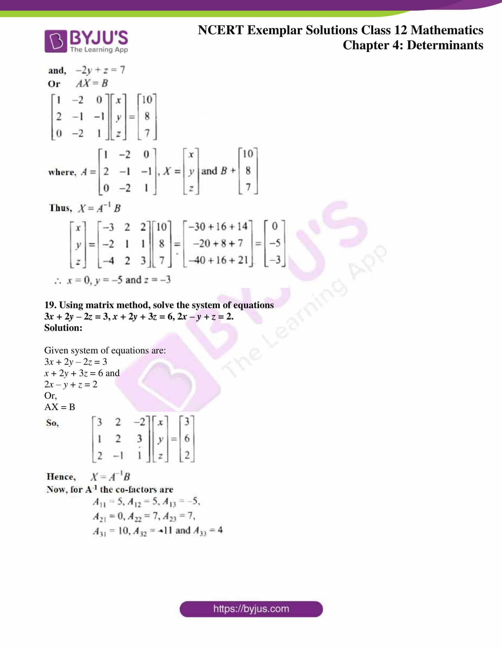 ncert exemplar sol class 12 math ch4 14