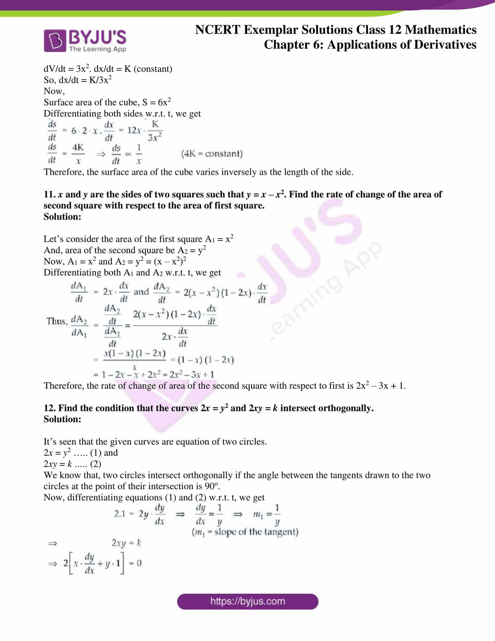 ncert exemplar sol class 12 math ch6 06