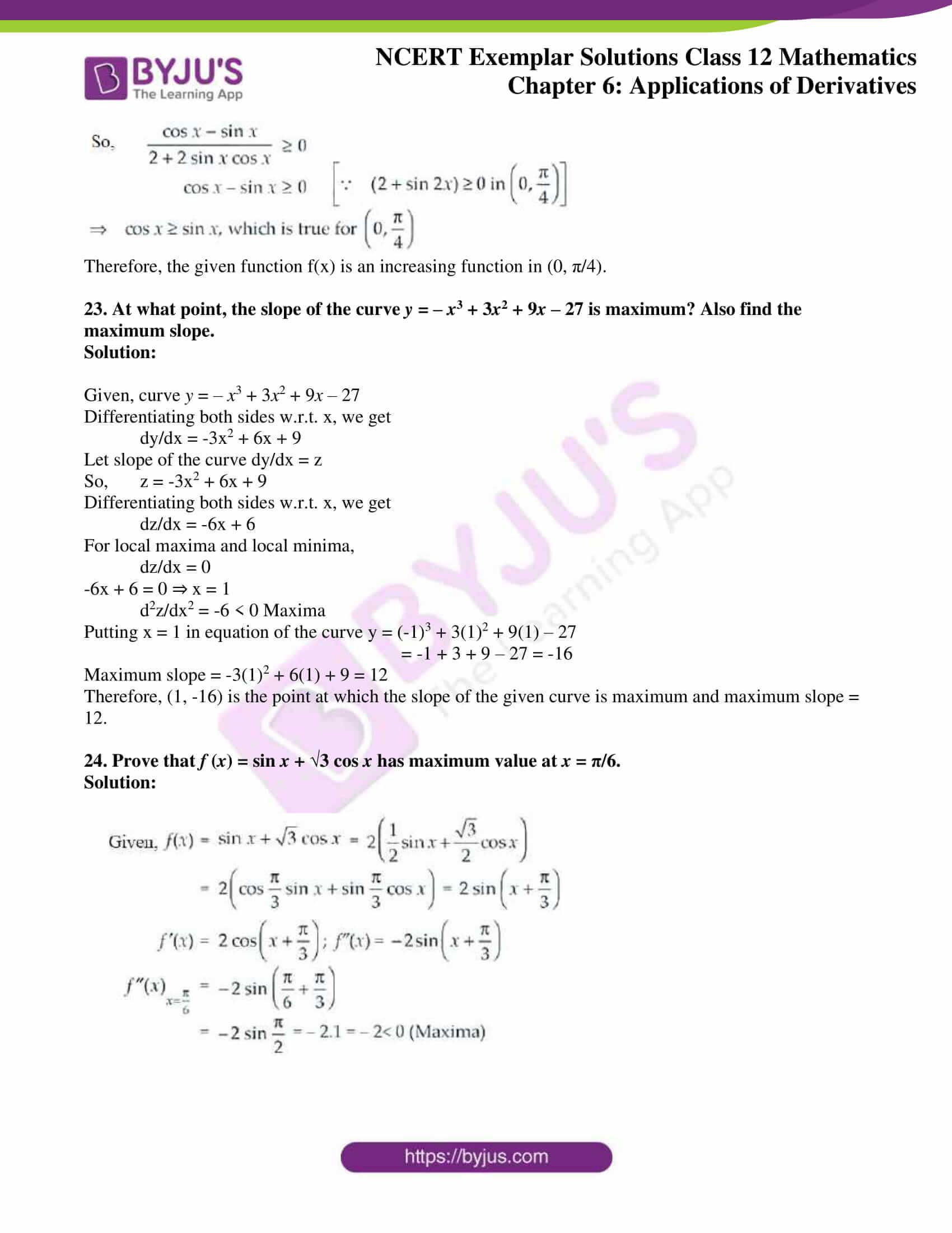 ncert exemplar sol class 12 math ch6 13