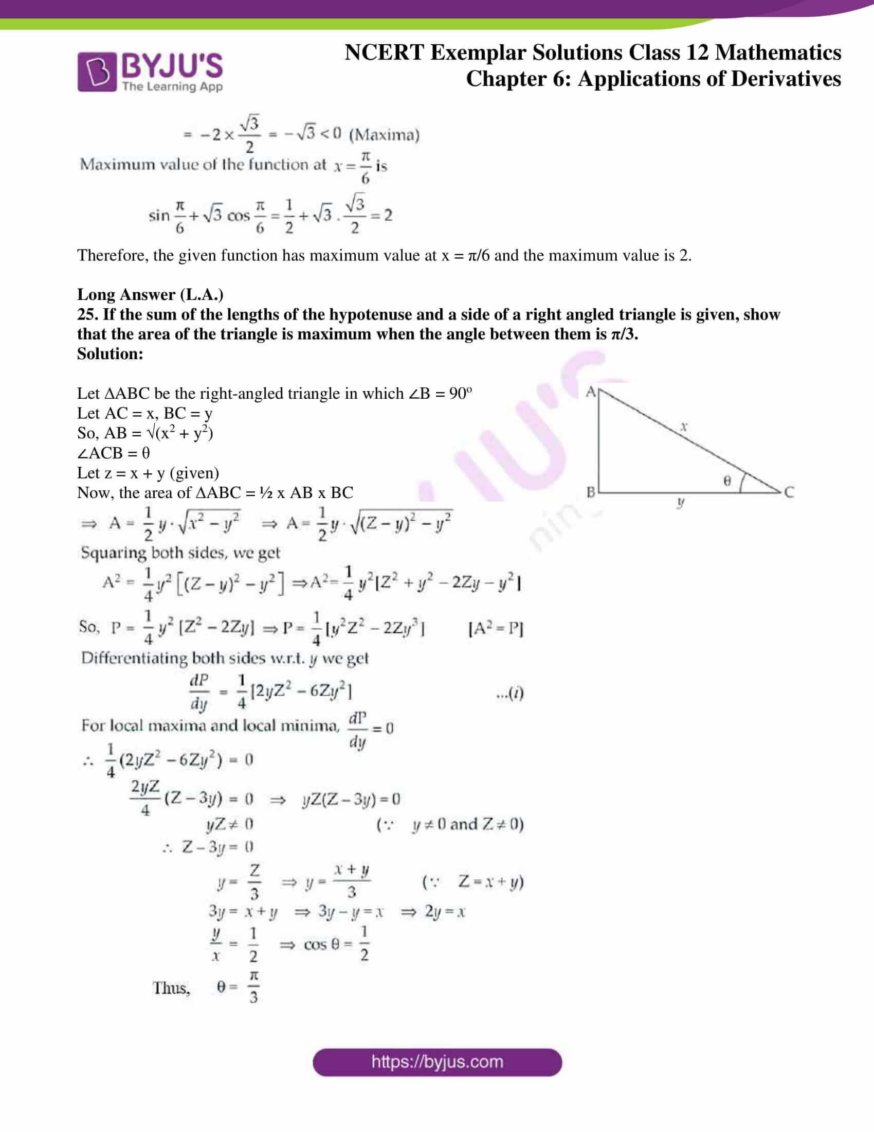 ncert exemplar sol class 12 math ch6 14