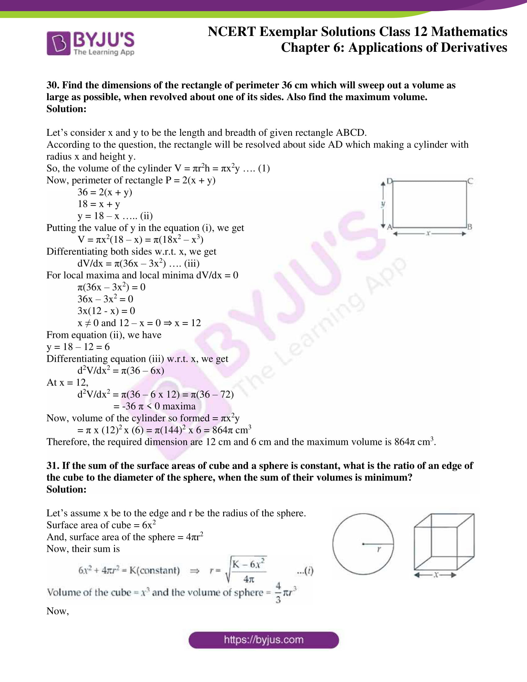 ncert exemplar sol class 12 math ch6 18