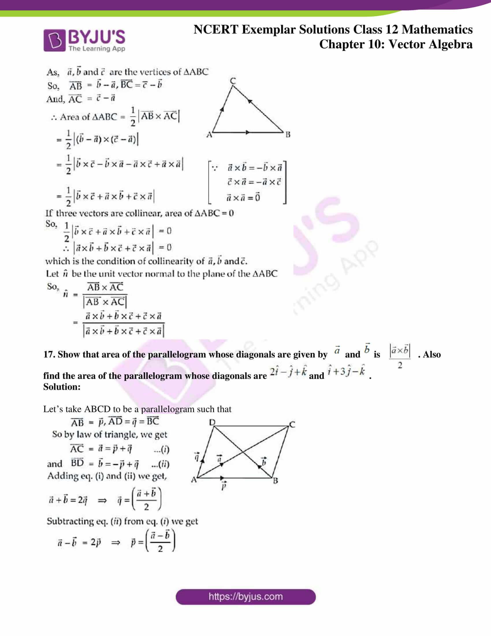 ncert exemplar sol class 12 mathematics ch 10 09