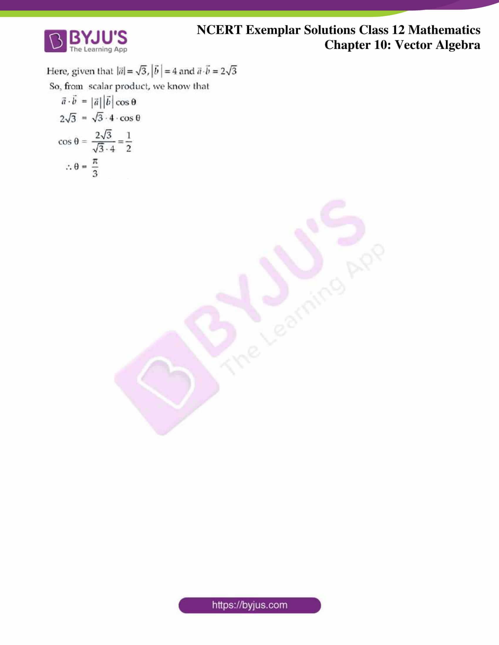 ncert exemplar sol class 12 mathematics ch 10 13