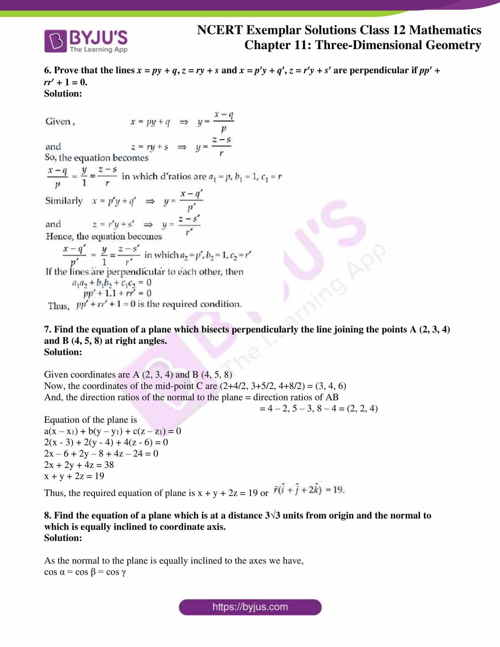 ncert exemplar sol class 12 mathematics ch 11 04