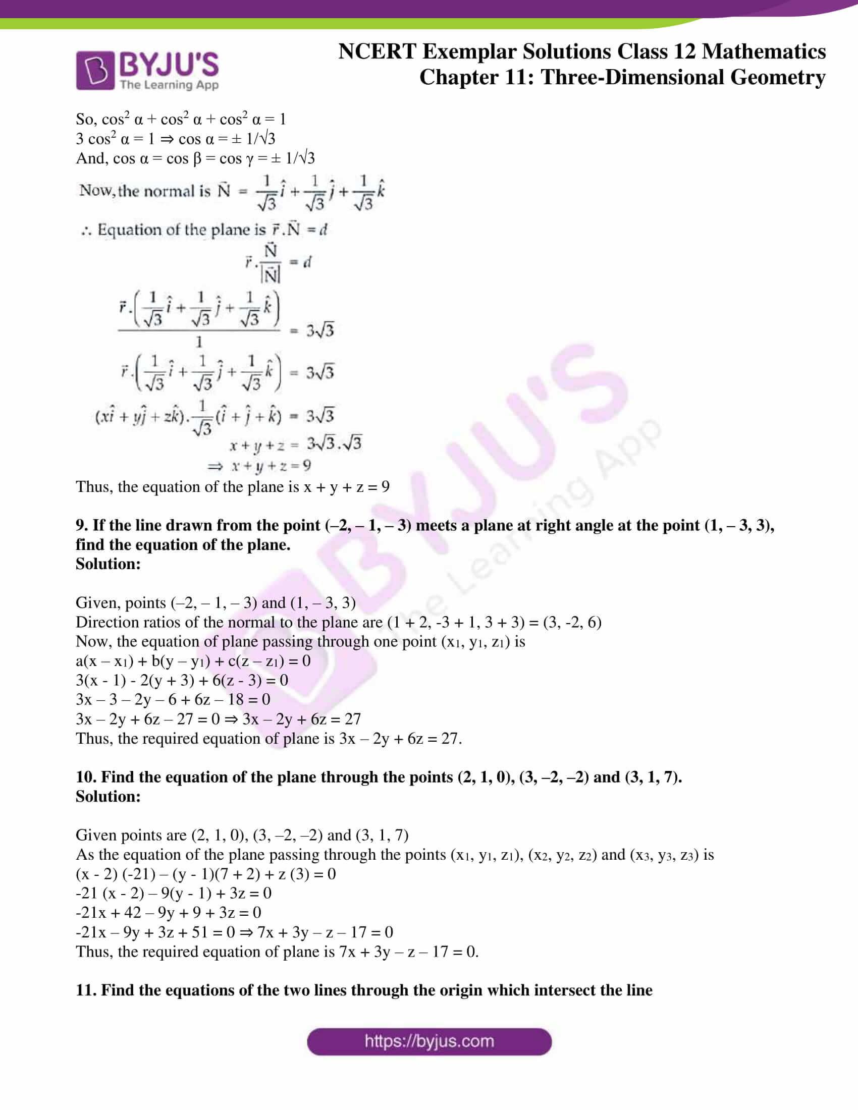 ncert exemplar sol class 12 mathematics ch 11 05